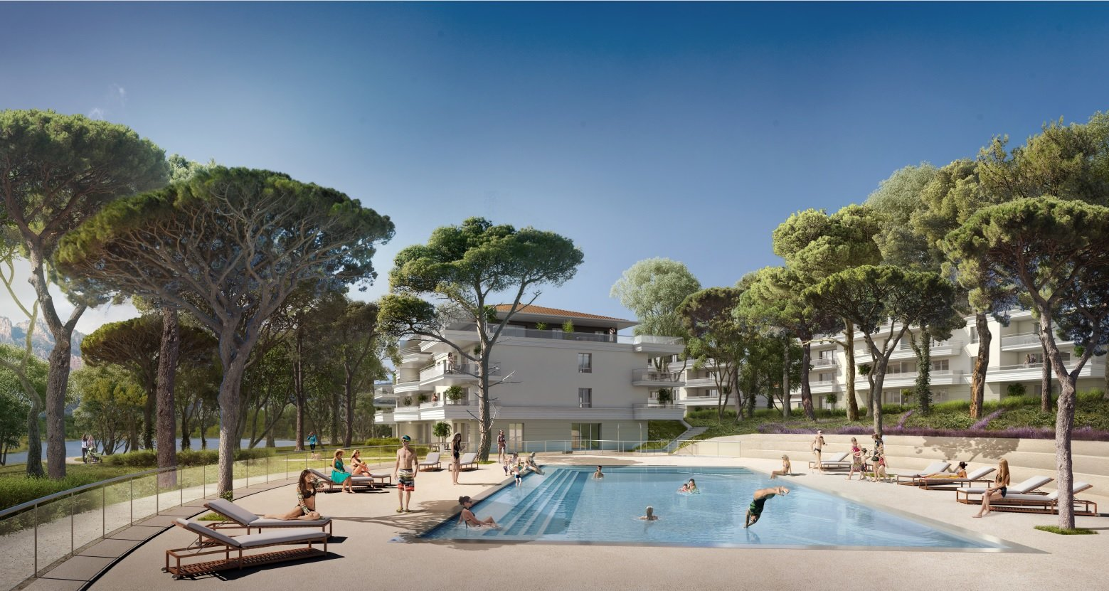 3 ROOM APARTMENT RESIDENCE WITH POOL AT PUGET SUR ARGENS