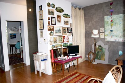 2/3 rooms with terrace Vintage Building
