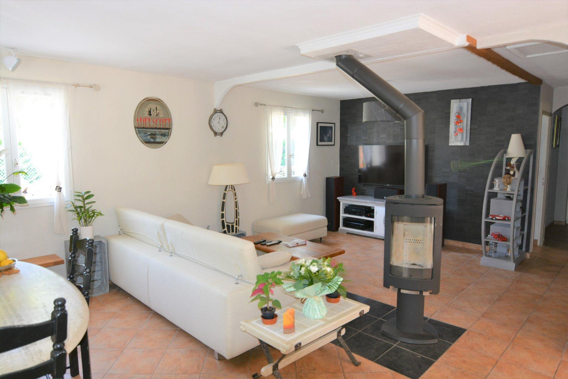 maison 4 pièces 100m² plain-pied Saint-Cezaire