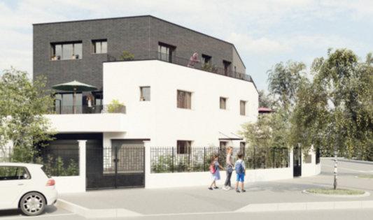 3 pièces avec 2  jardins privatifs et parking