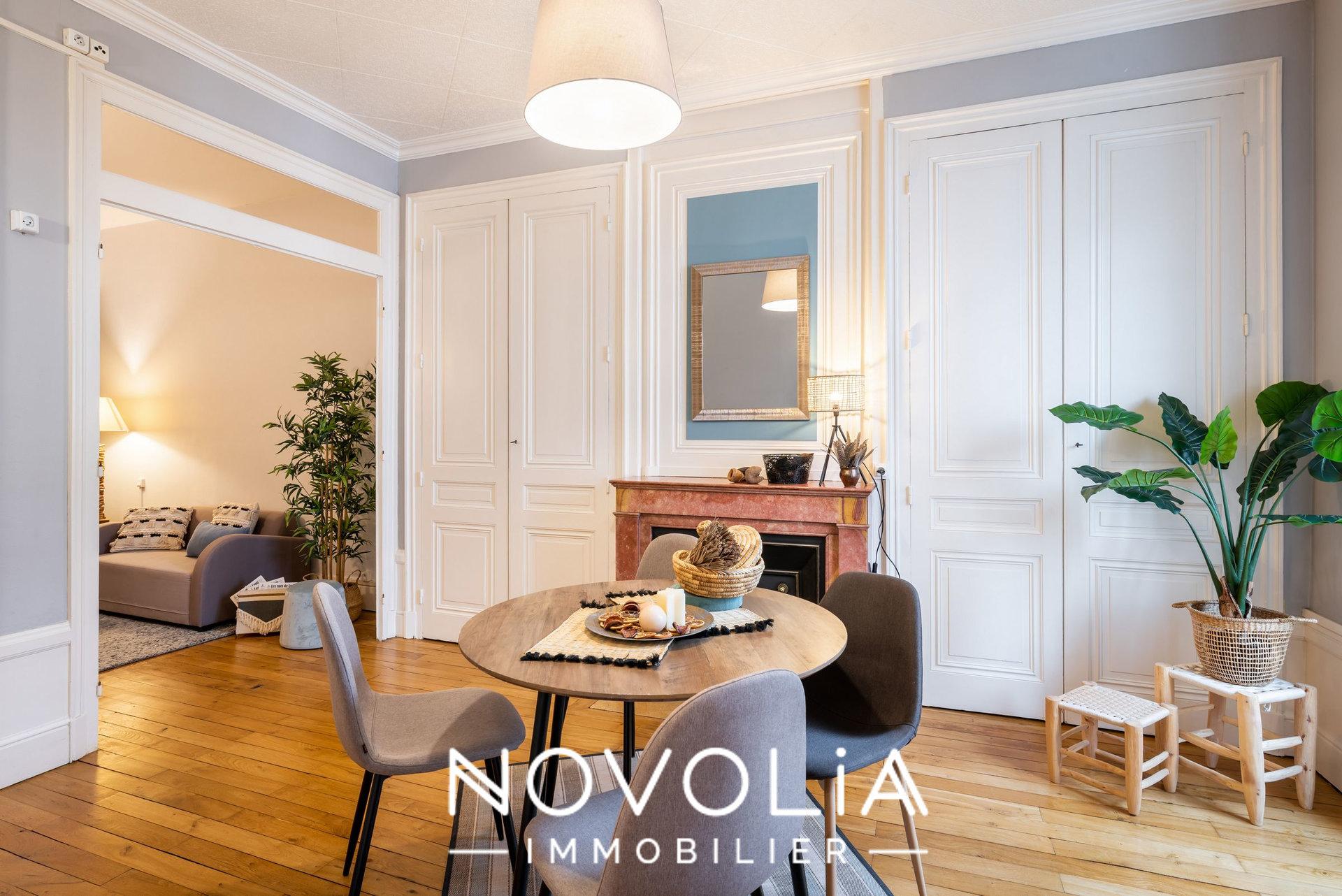 Achat Appartement Surface de 61.05 m²/ Total carrez : 61 m², 3 pièces, Lyon 6ème (69006)