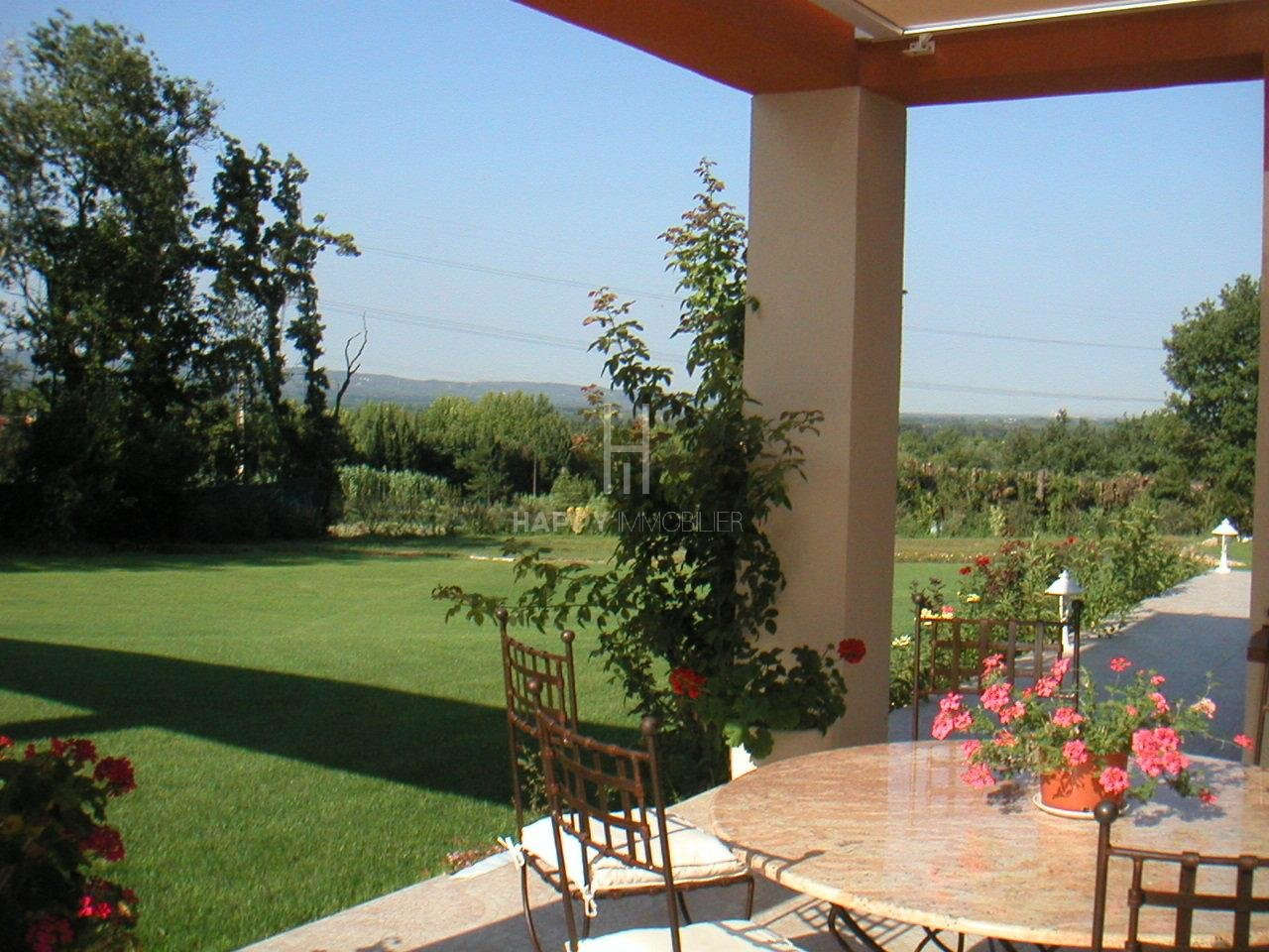 Property in a dominant position with a view,