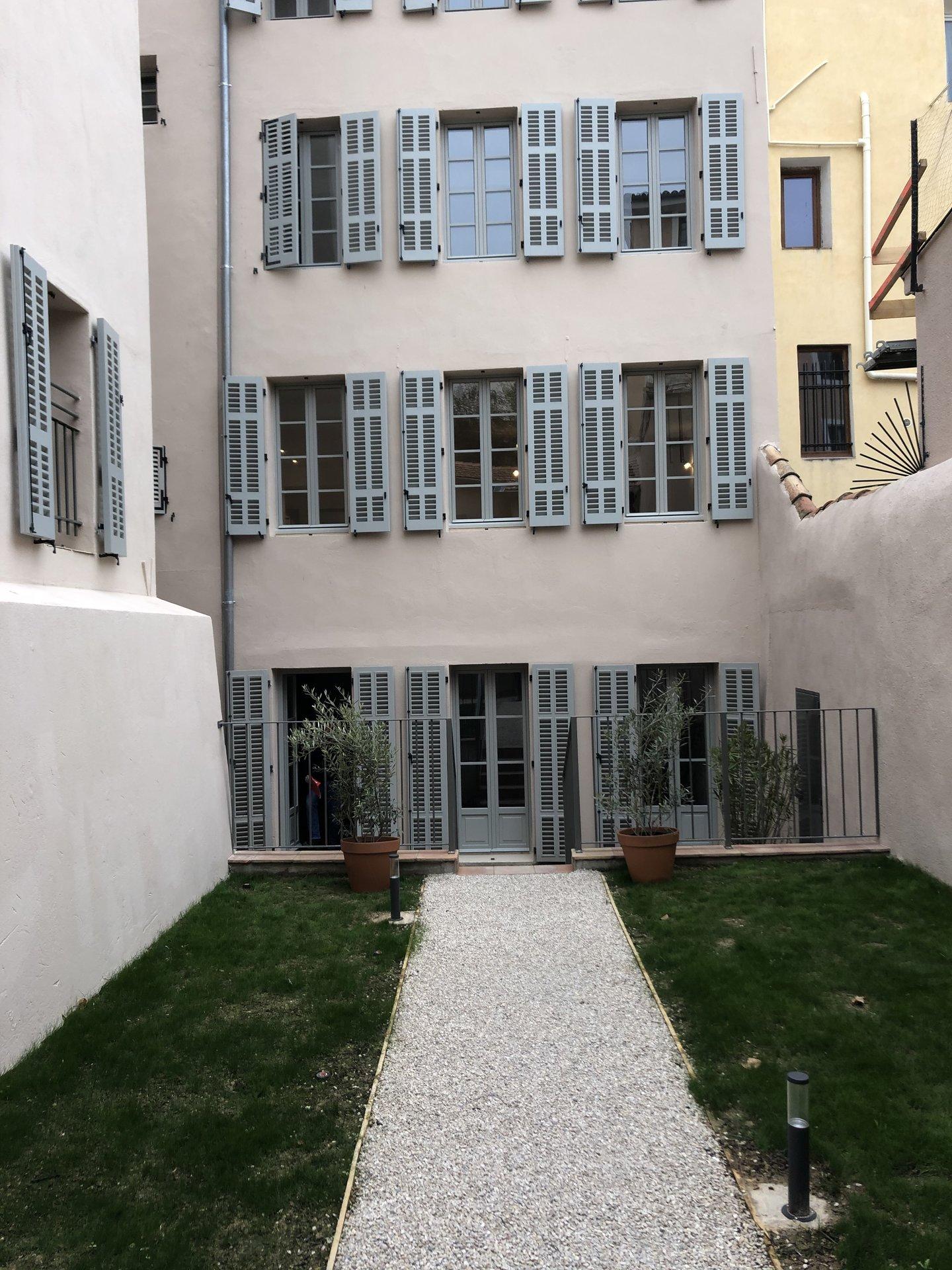 Aix centre, appartement de type 2 entièrement rénové