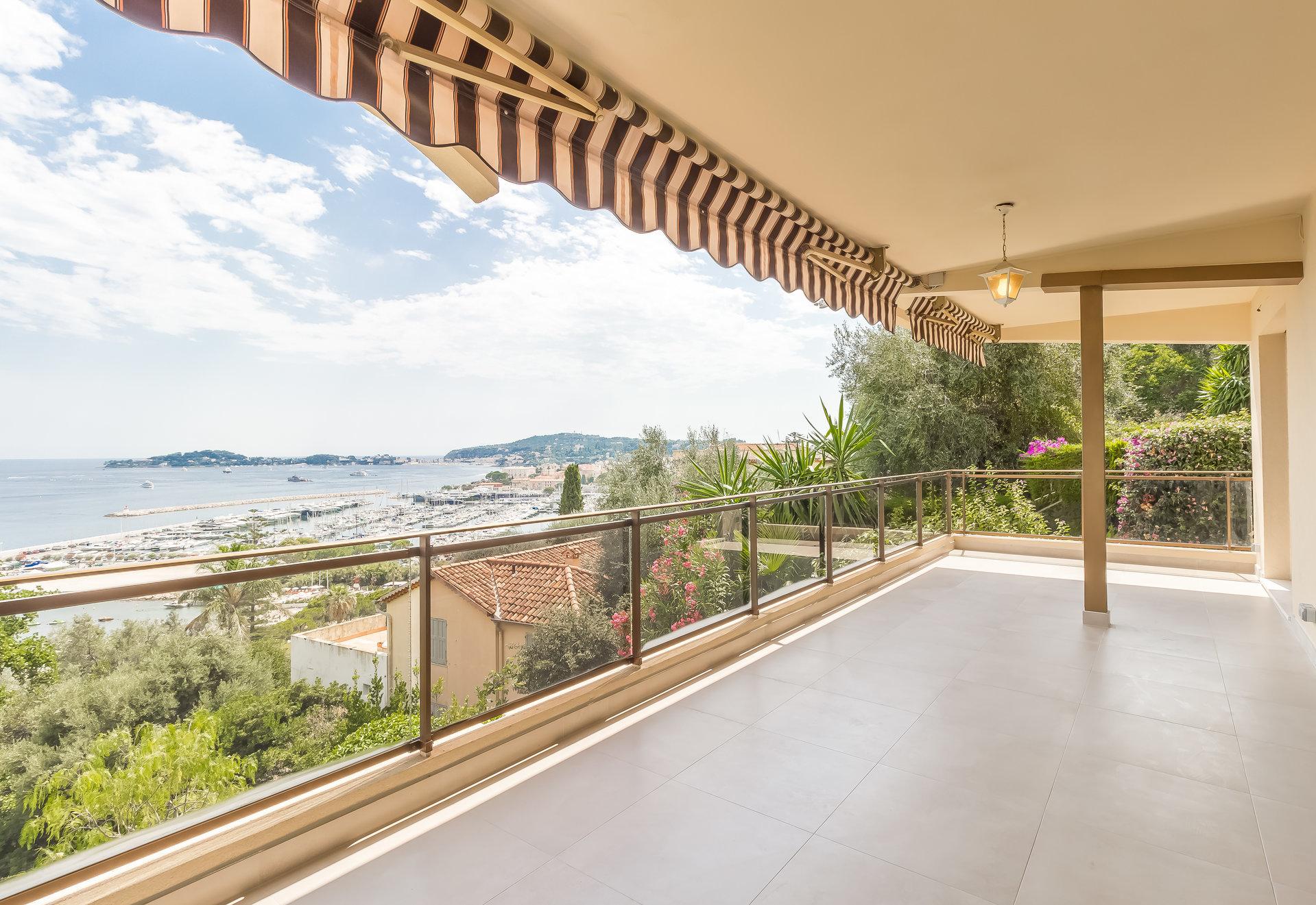 BEAULIEU S/M 3 pcs, neuf, terrasse , vue mer, garage