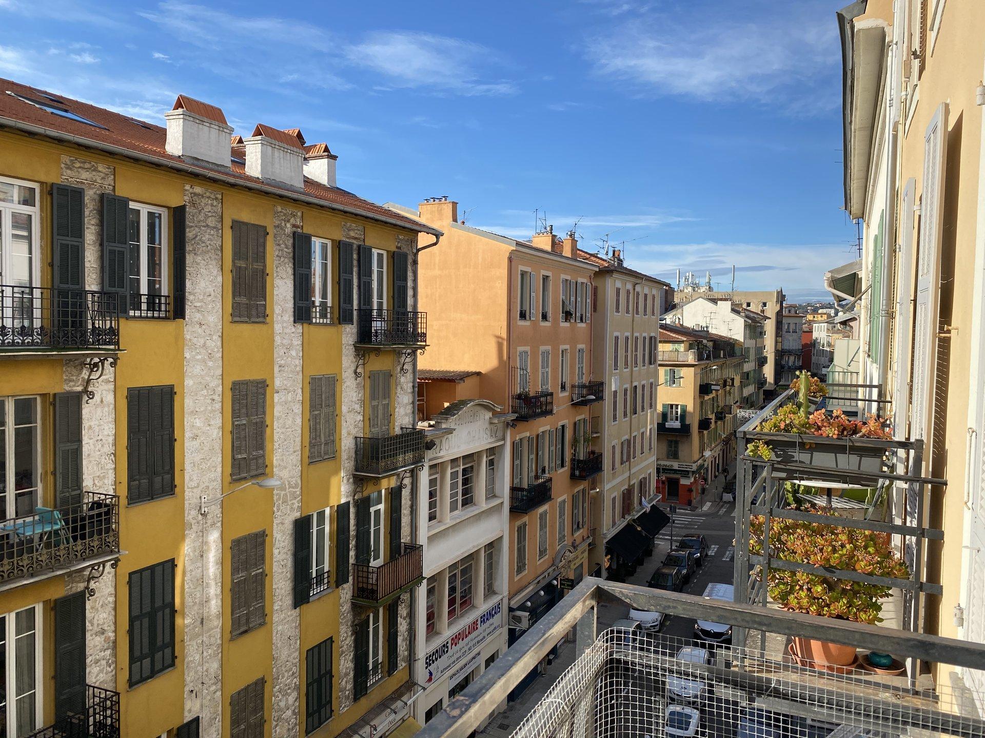 Nice Le Port BONAPARTE - 2 pièces Balcon SUD -