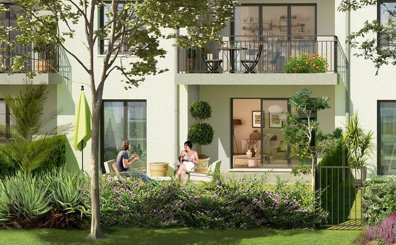 GATTIERES - 3 ROOMS WITH TERRACE AND GARDEN
