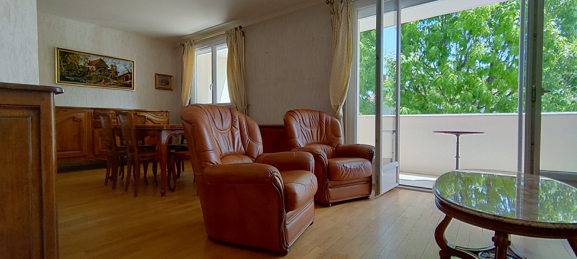 Appartement 2 ch avec cave et garage
