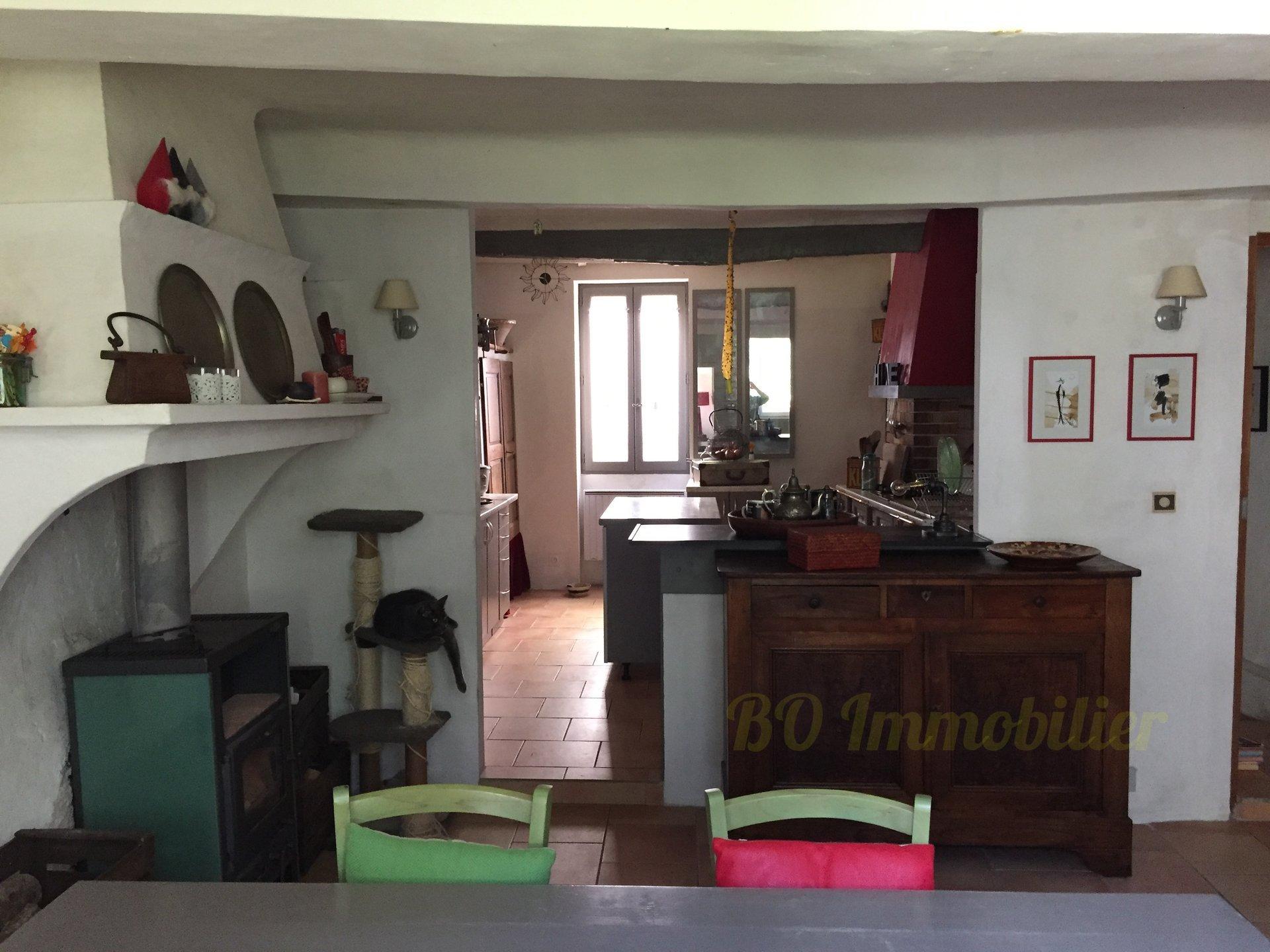 Maison de village atypique de 155 m2