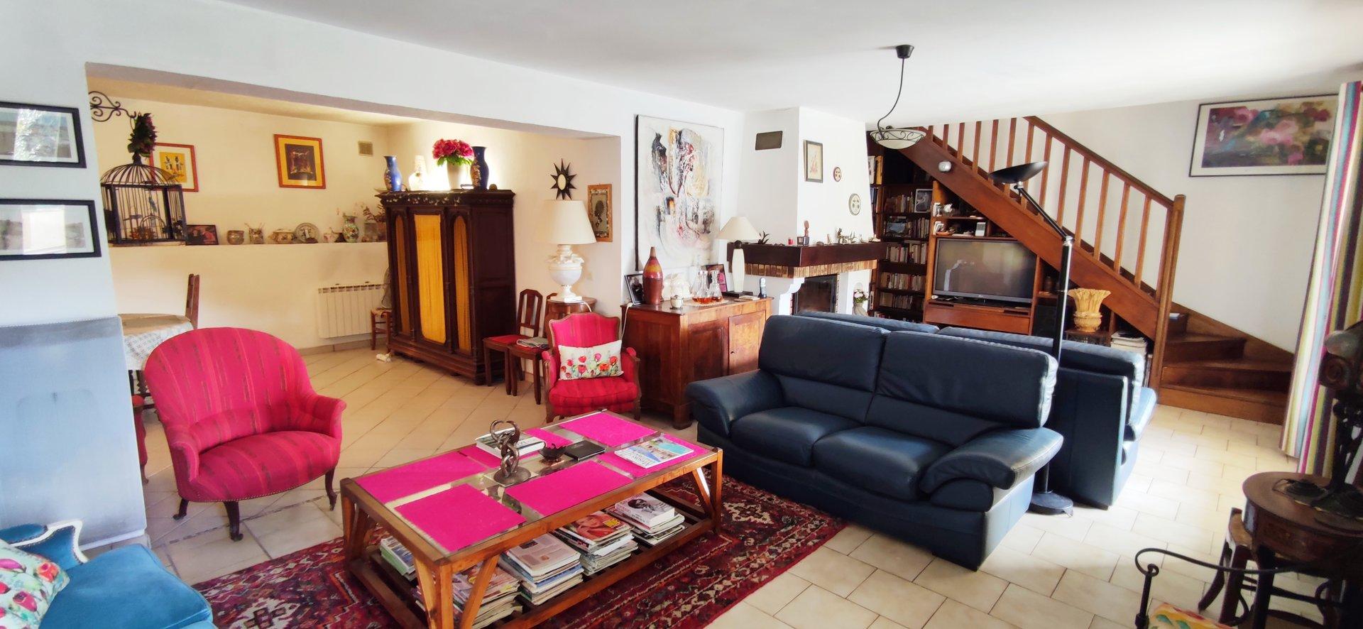 ROQUEFORT-LES-PINS - Maison familiale avec Vue dégagée