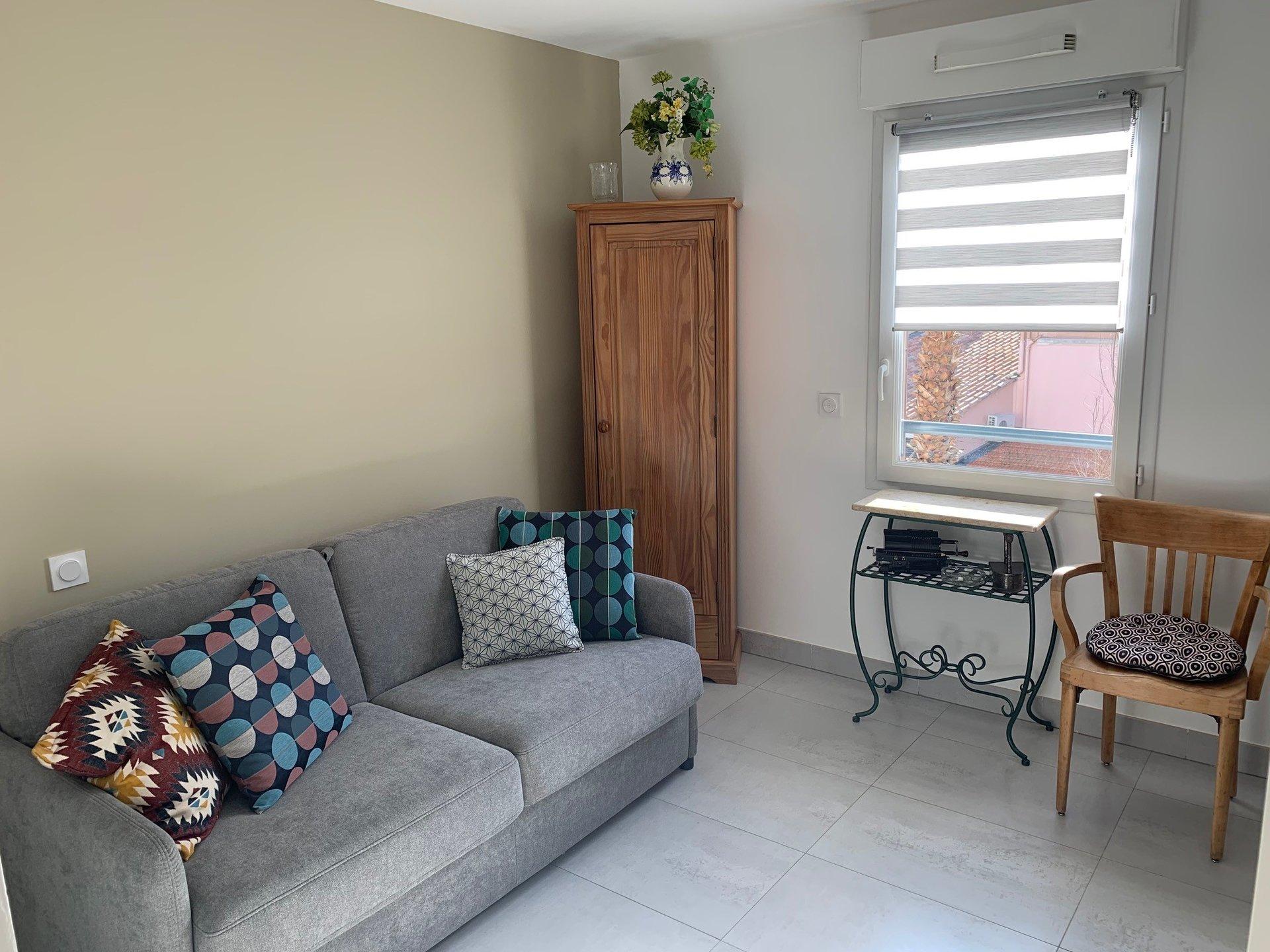 3-room apartment close to the harbor