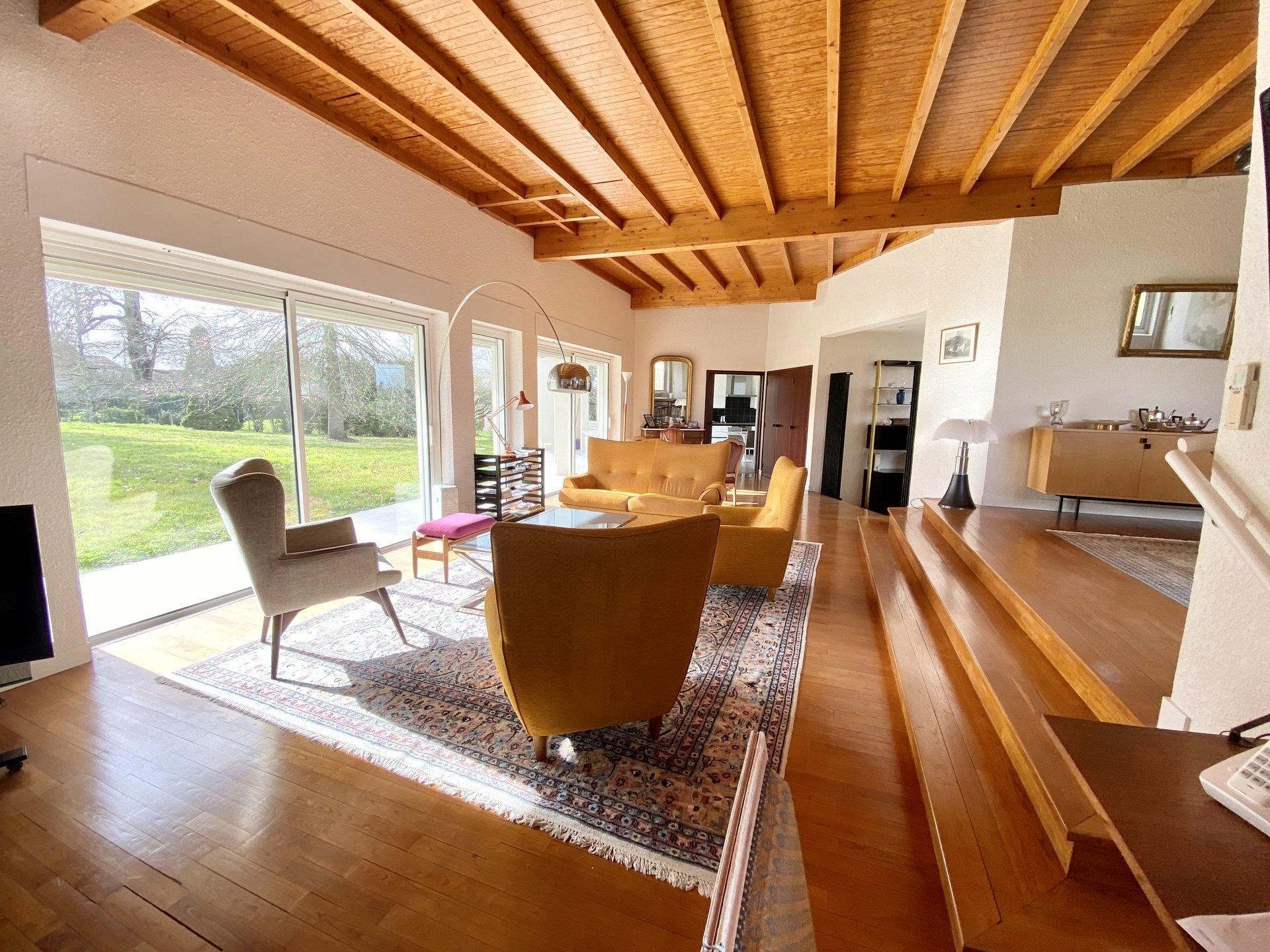 Magnifique maison d'architecte avec parc