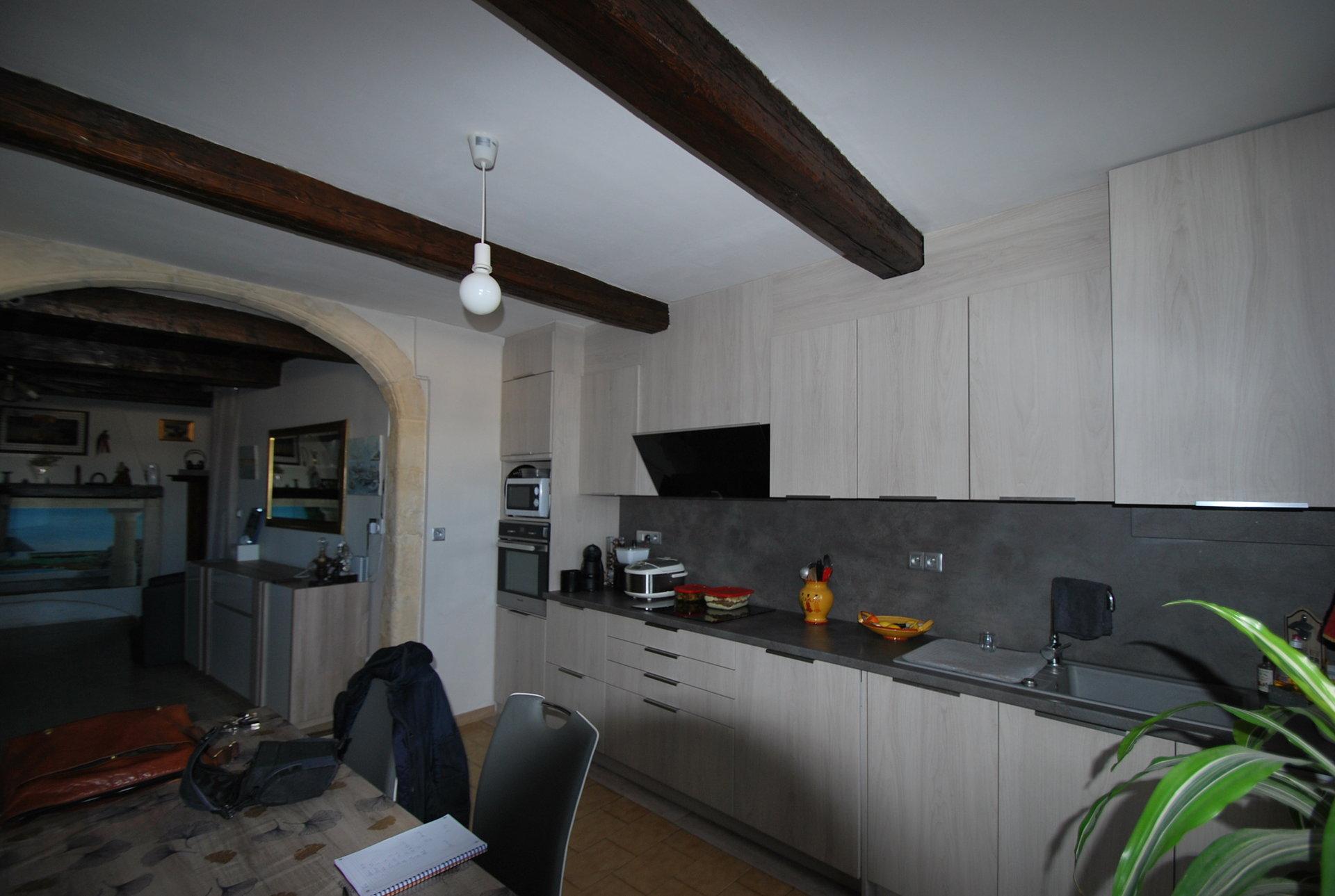 Maison avec vue sur le Rhône