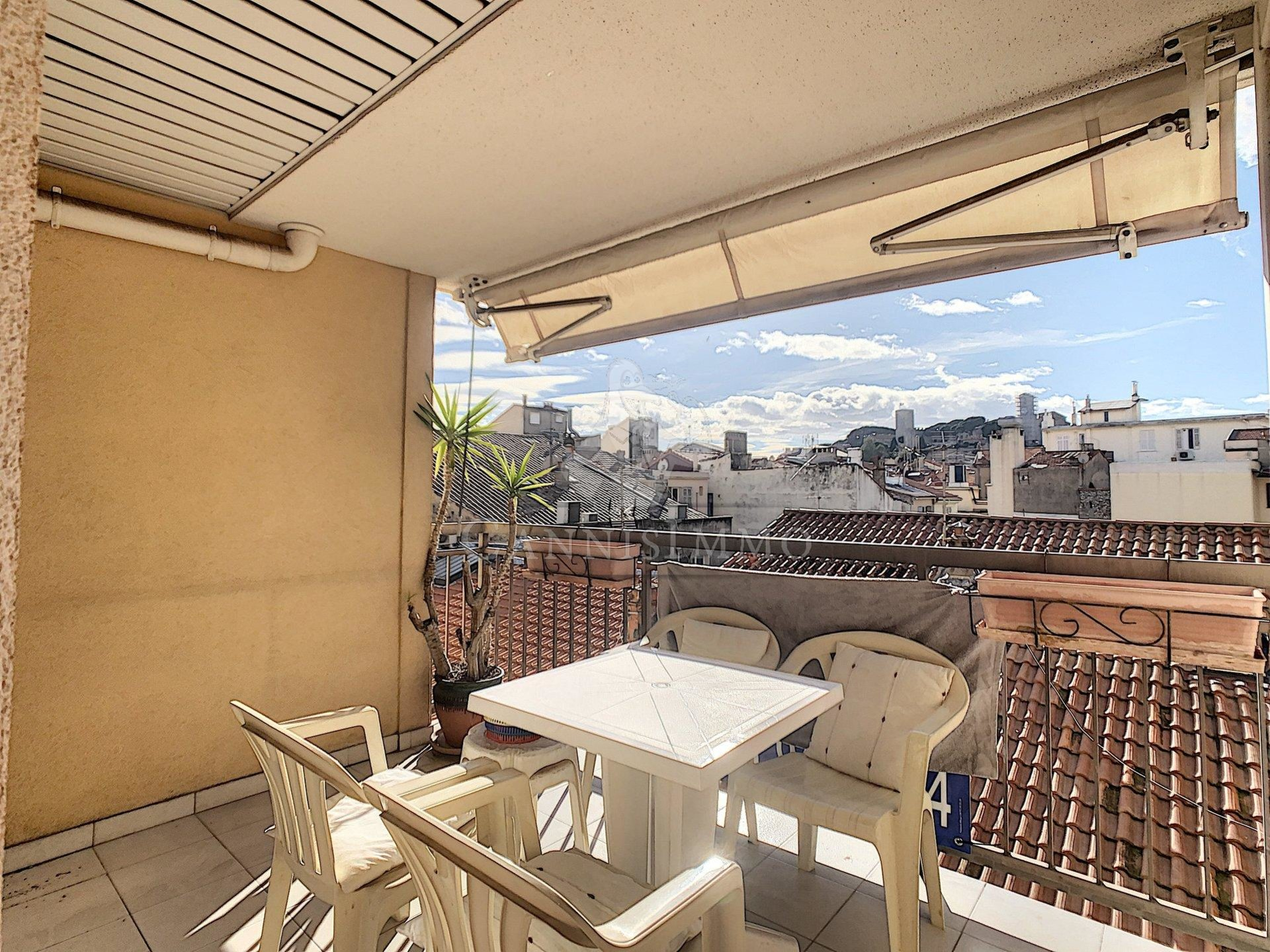CANNES BANANE 2 PIECES TERRASSE