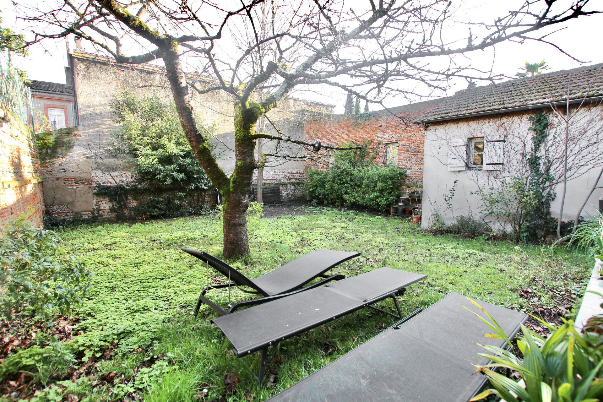 Belle Toulousaine avec jardin (Busca Duméril)