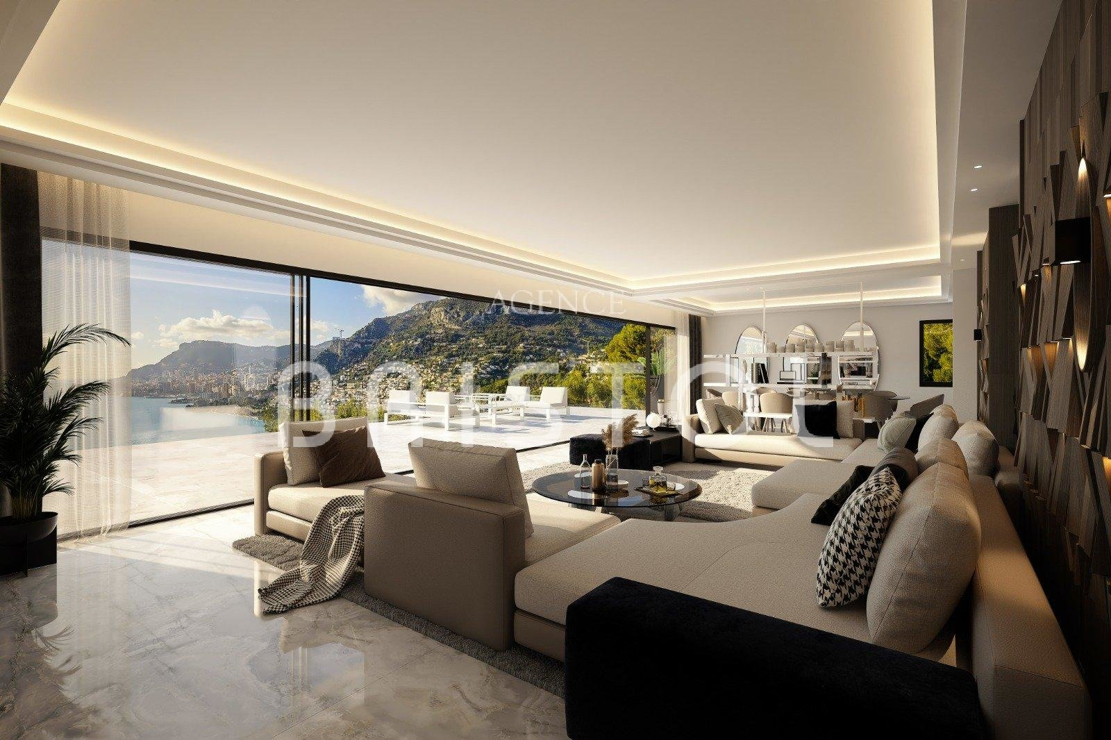 Project of an exceptional contemporary villa in Roquebrune Cap Martin