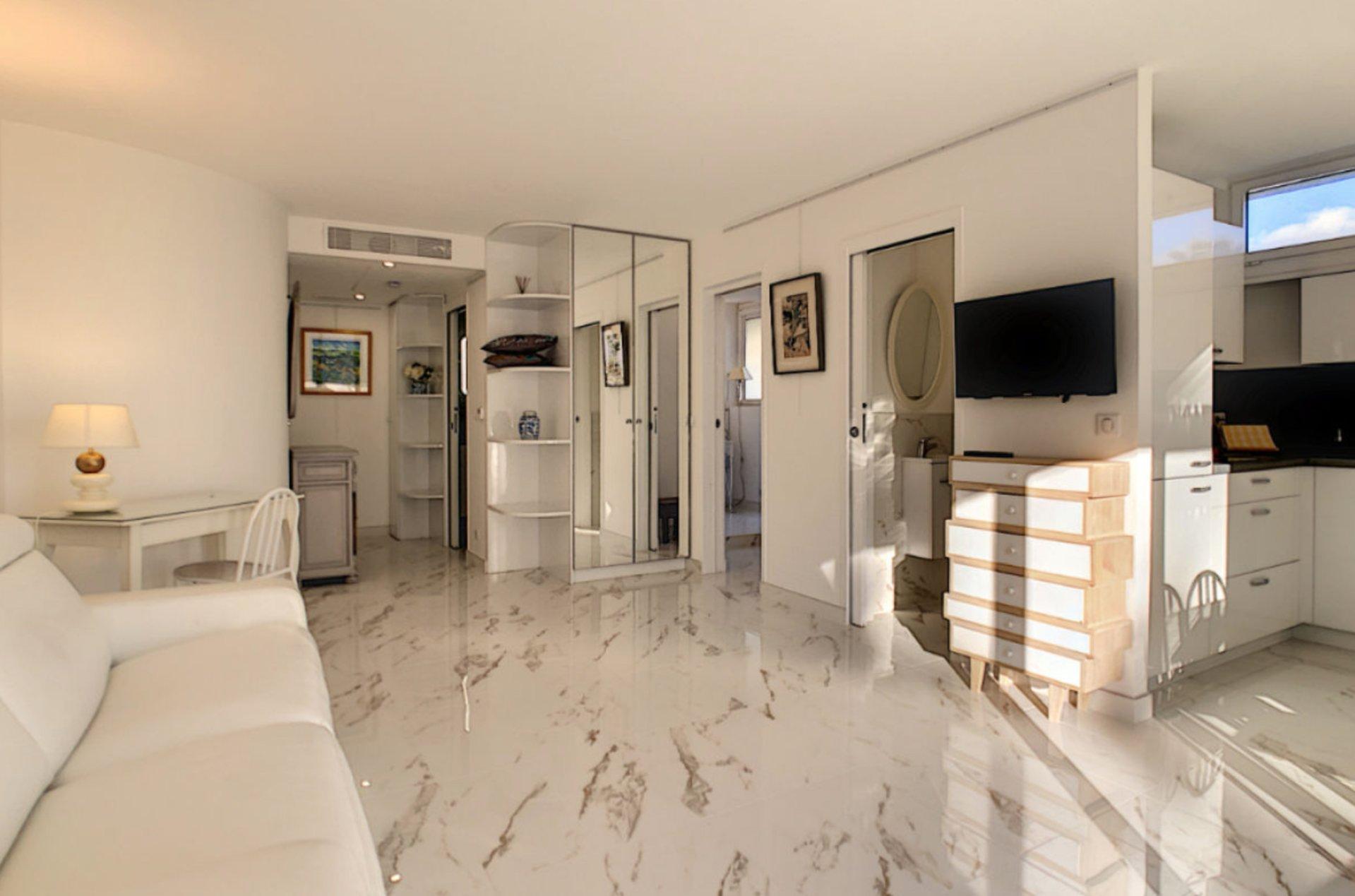 Cannes Palm Beach 2P 43 m2 closed to Croisette