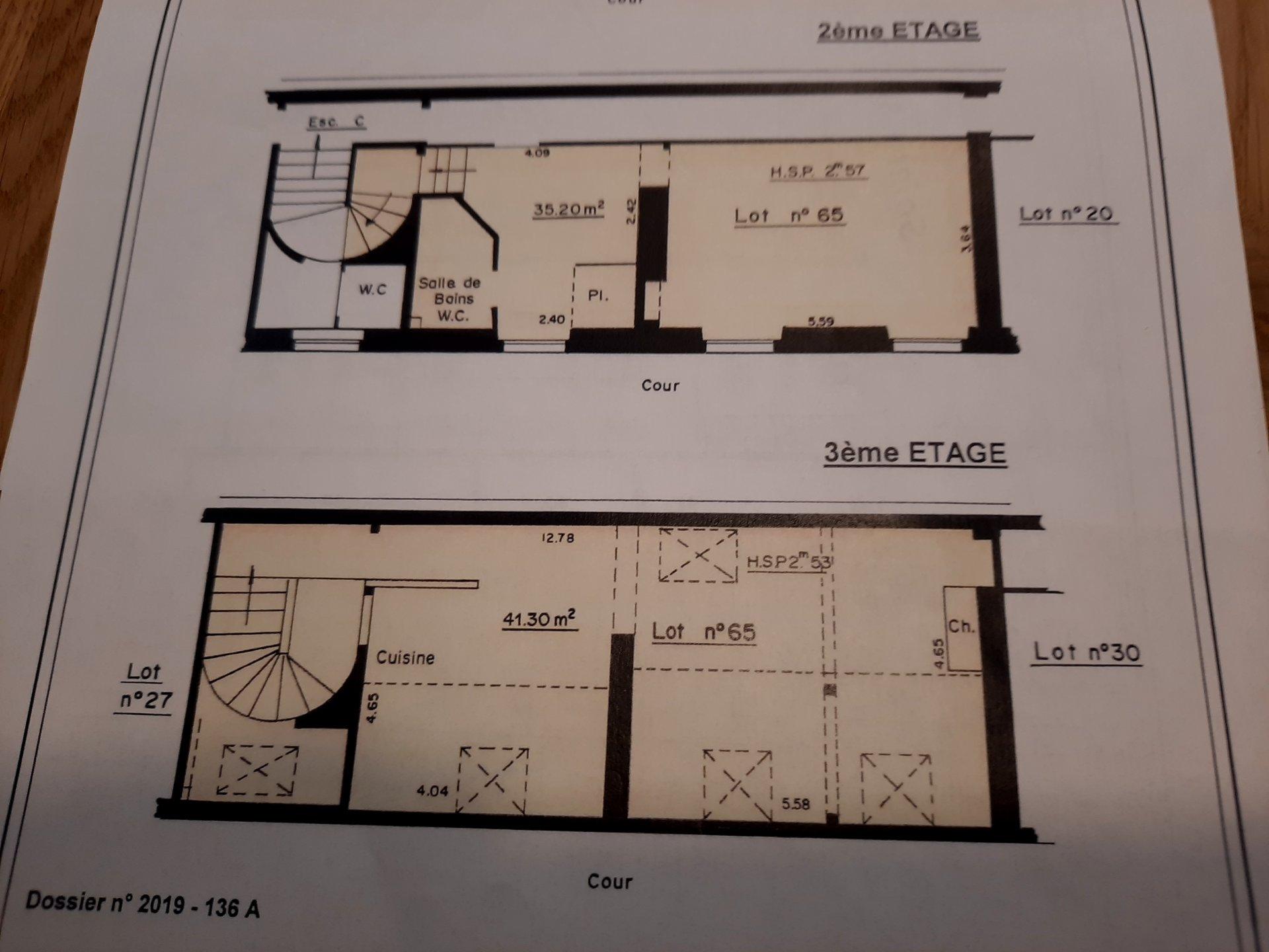 DUPLEX PARIS 11 de 90 m²