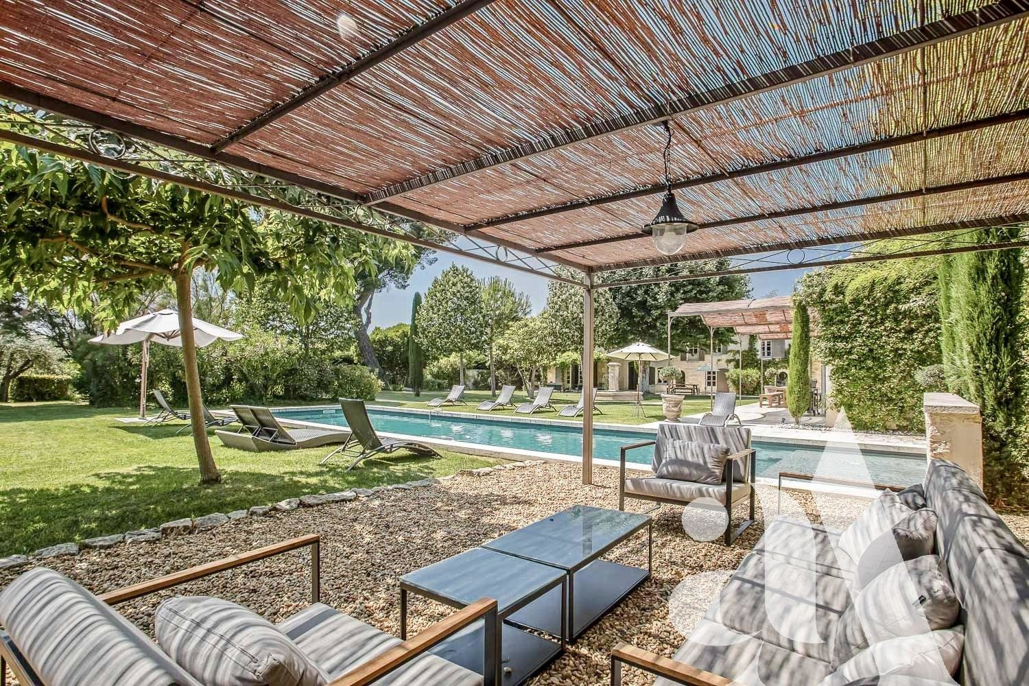 THE MAS MAGALIE - SAINT REMY DE PROVENCE - ALPILLES - 6 bedrooms - 12 peoples
