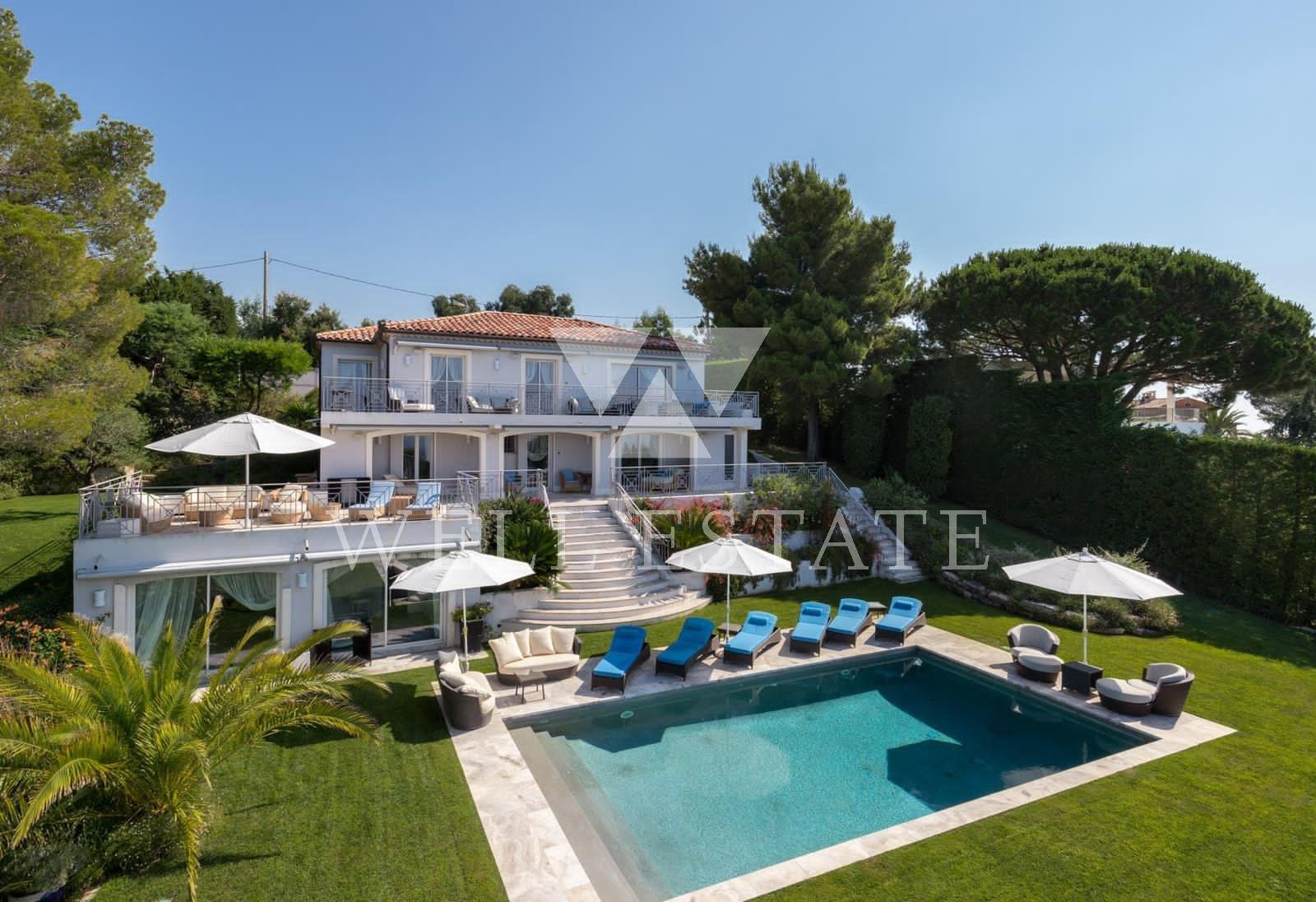 SUPER CANES VILLA NEO PROVENCAL 250M2 WITH SWIMMING POOL AND PANORAMIC SEA VIEW
