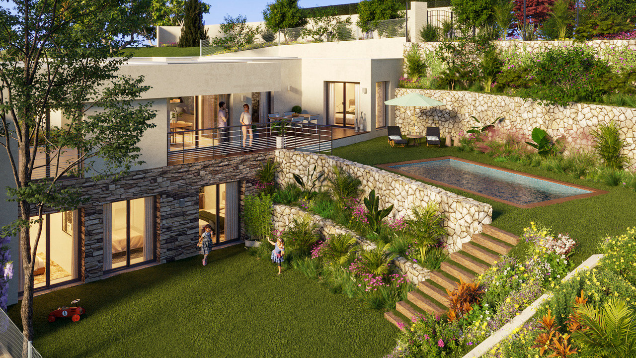 Carqueiranne: your future villa 5 minutes from the beach