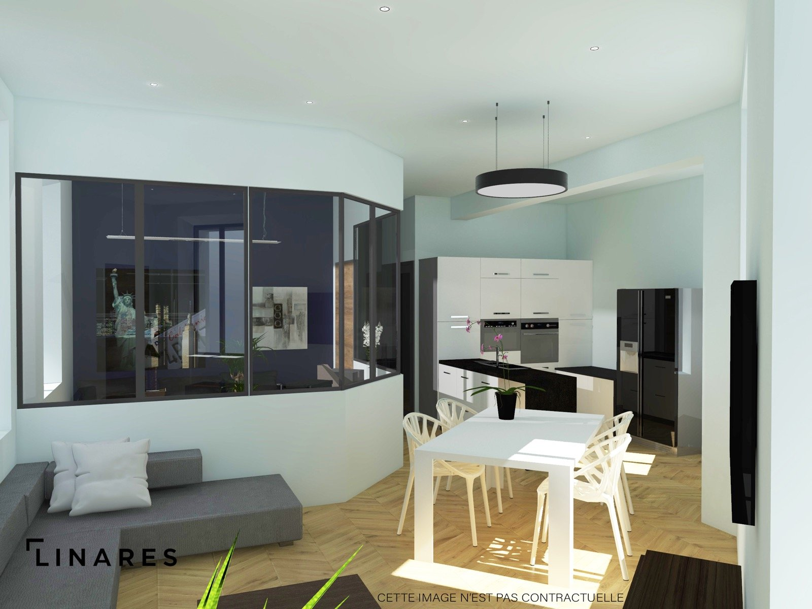 L'EFFICACE - Appartement Type 2 de 30 m2 Marseille 13010