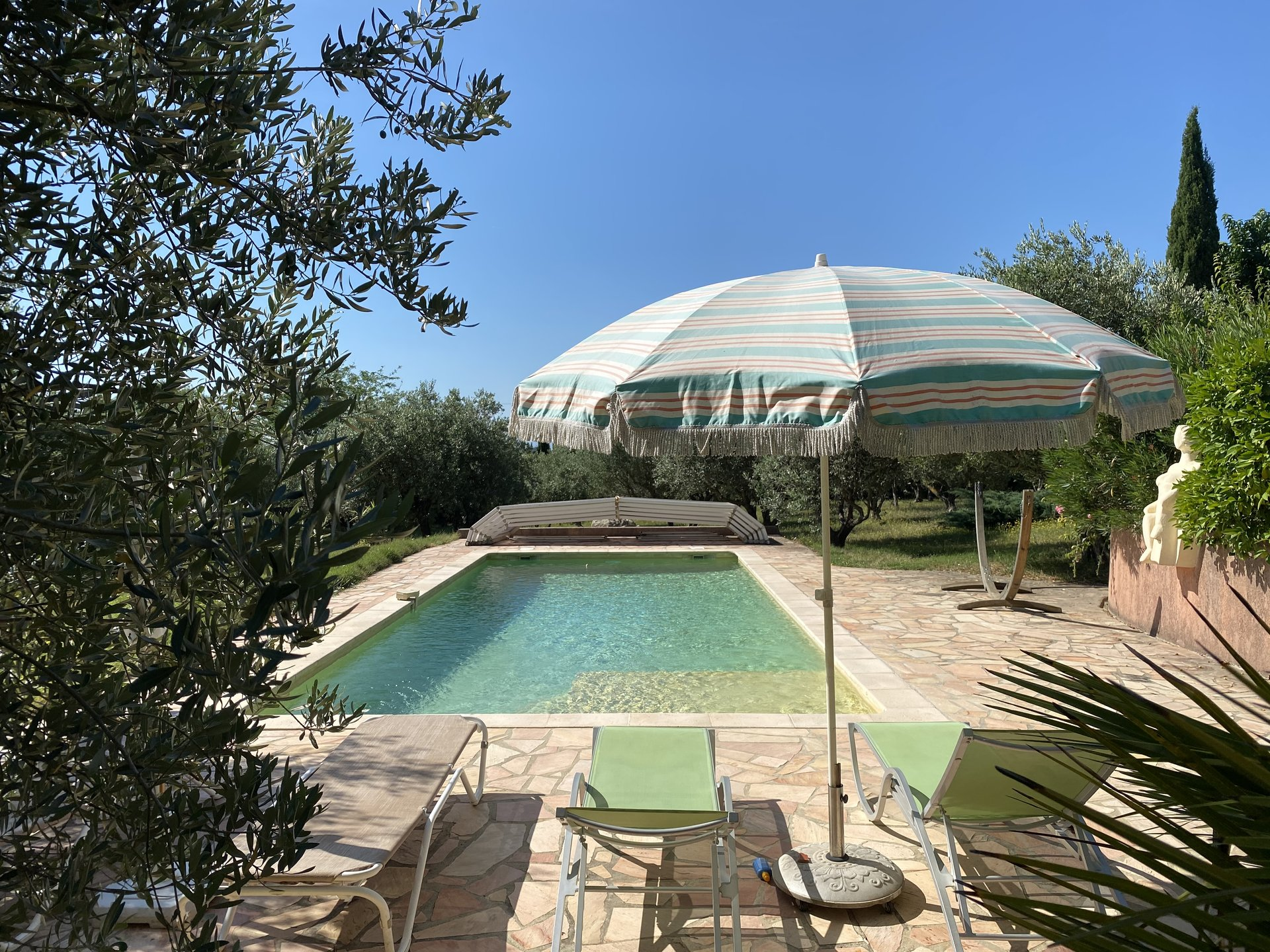 ON FOOT OF THE VILLAGE - RENOVATED PROVENCAL MAS WITH SWIMMING POOL