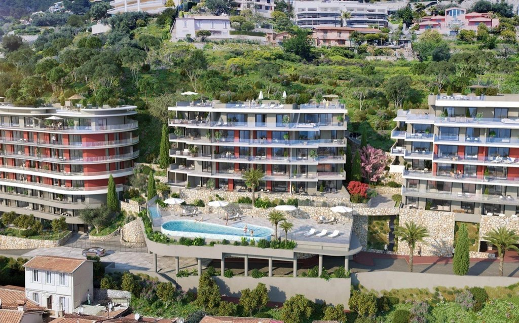 Roquebrune-Cap-Martin - French Riviera - Penthouse with panoramic sea view and large terrace