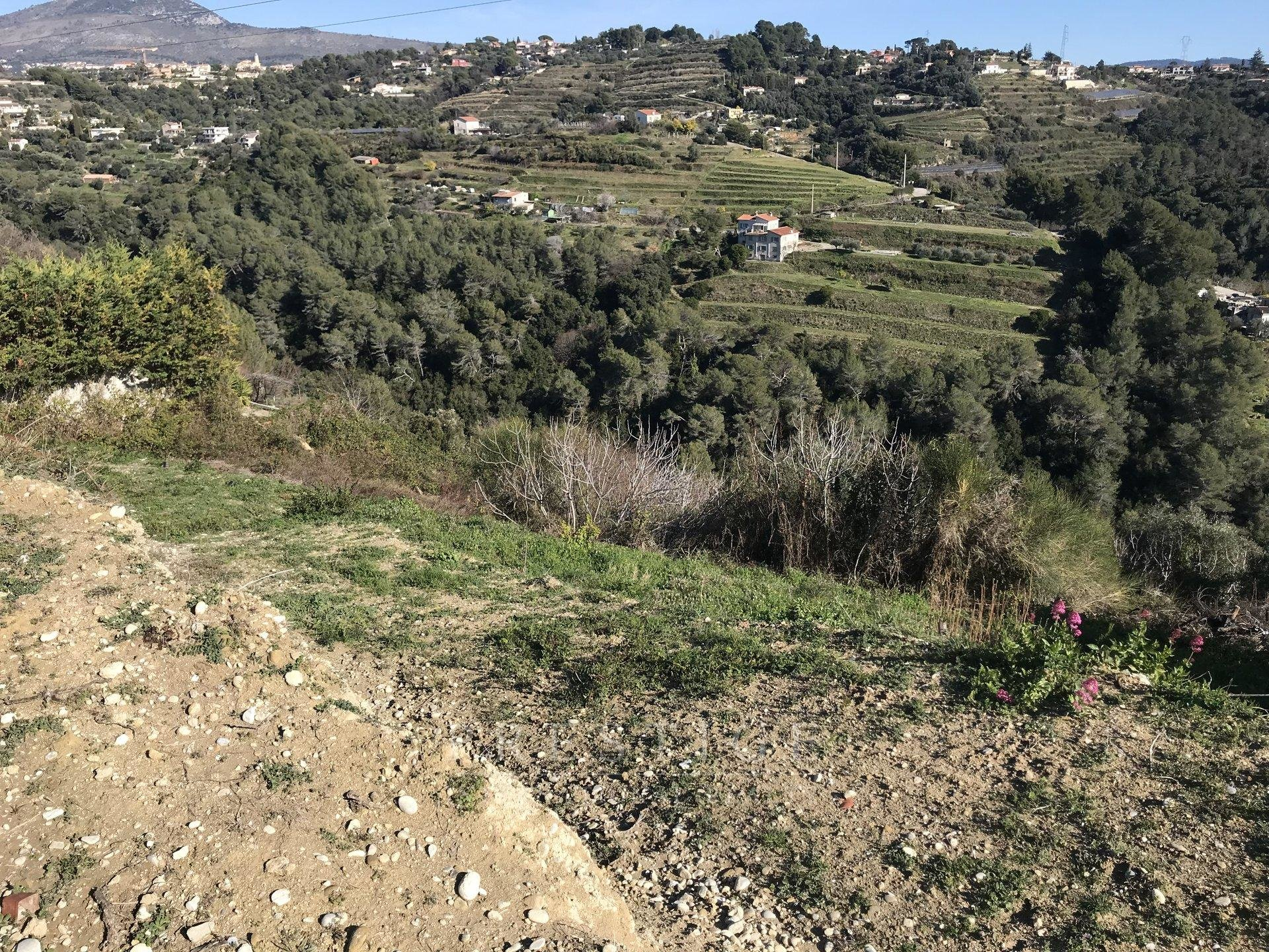 Nice, land for sale - Nice St Roman de Bellet/ St Isidore