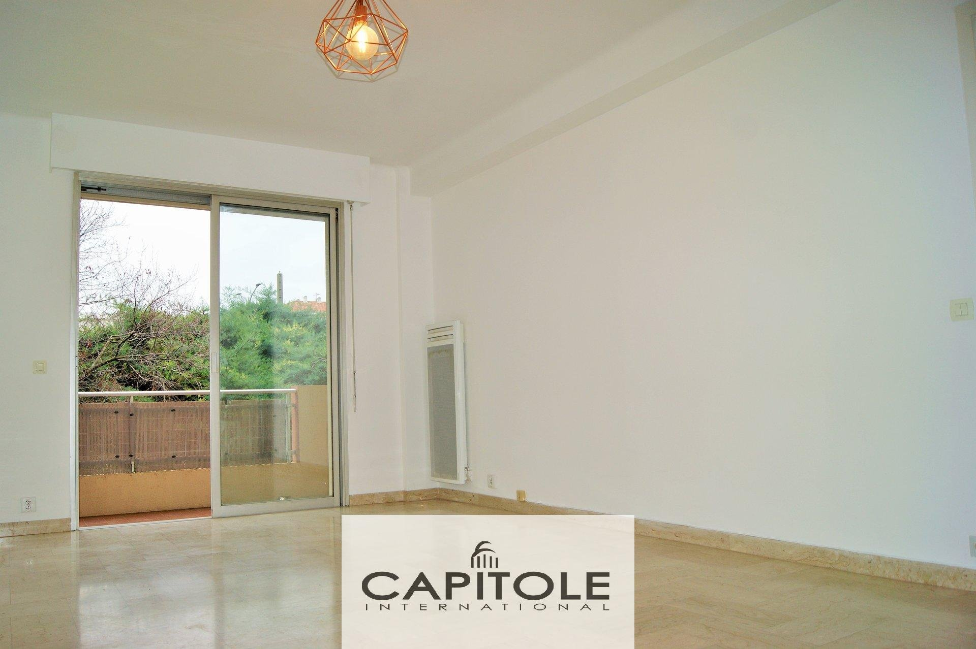 For sale, Antibes, 1 bedroom apartment, south facing terrace, parking place, cellar