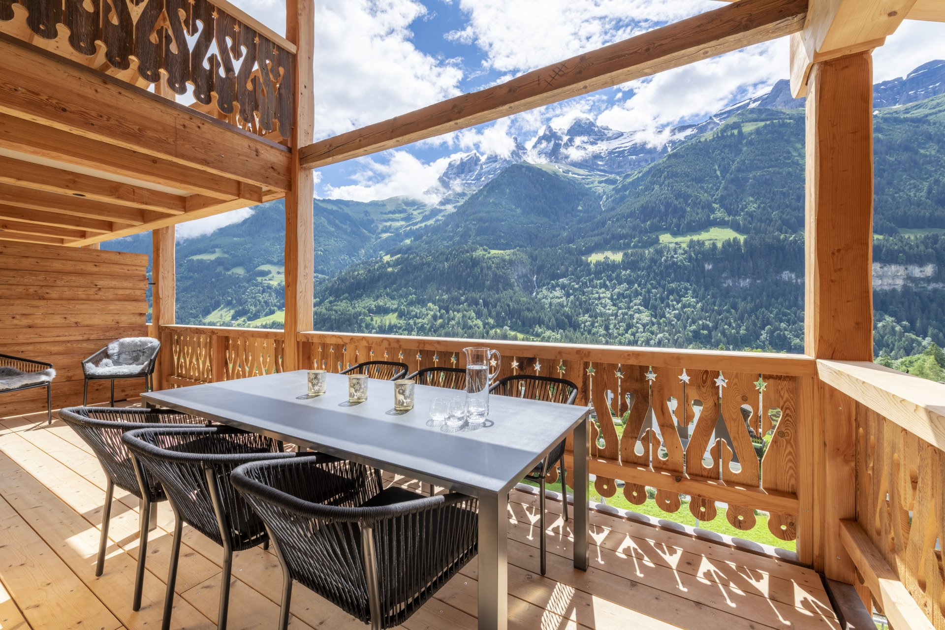 Wonderful apartment in the Swiss Alps Accommodation in Verbier St-Bernard