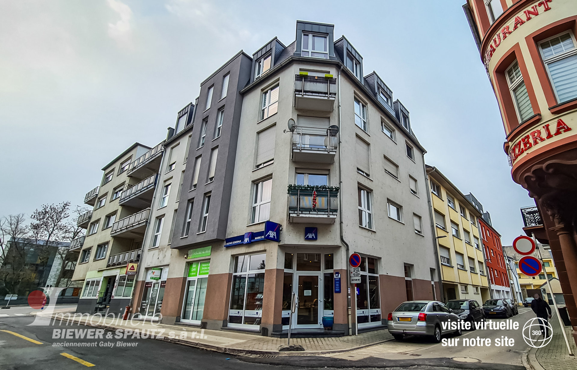 FOR RENT - appartment with 2 bedrooms in Ettelbrück