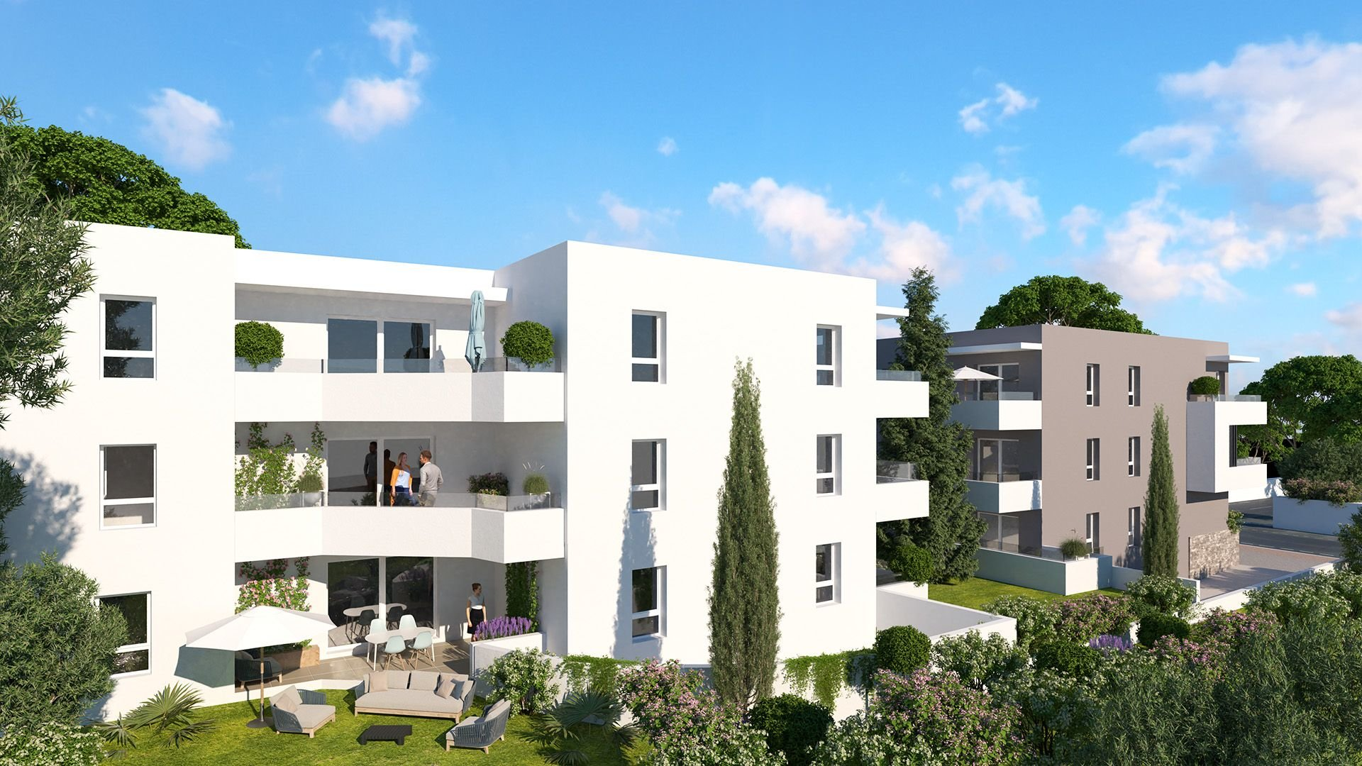 Appartement T3 Montpellier Quartier Lemasson 60.9m2 315.000 euros.