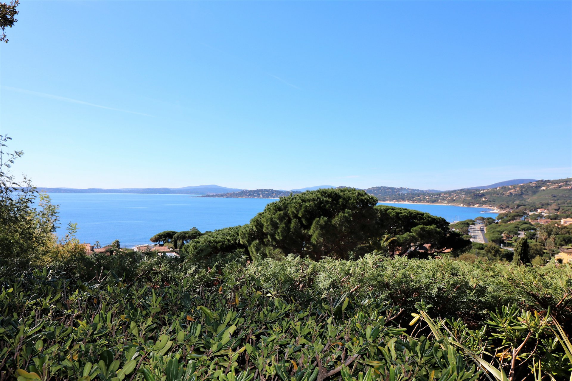 Les Issambres - Panoramic sea views on Saint Tropez gulf