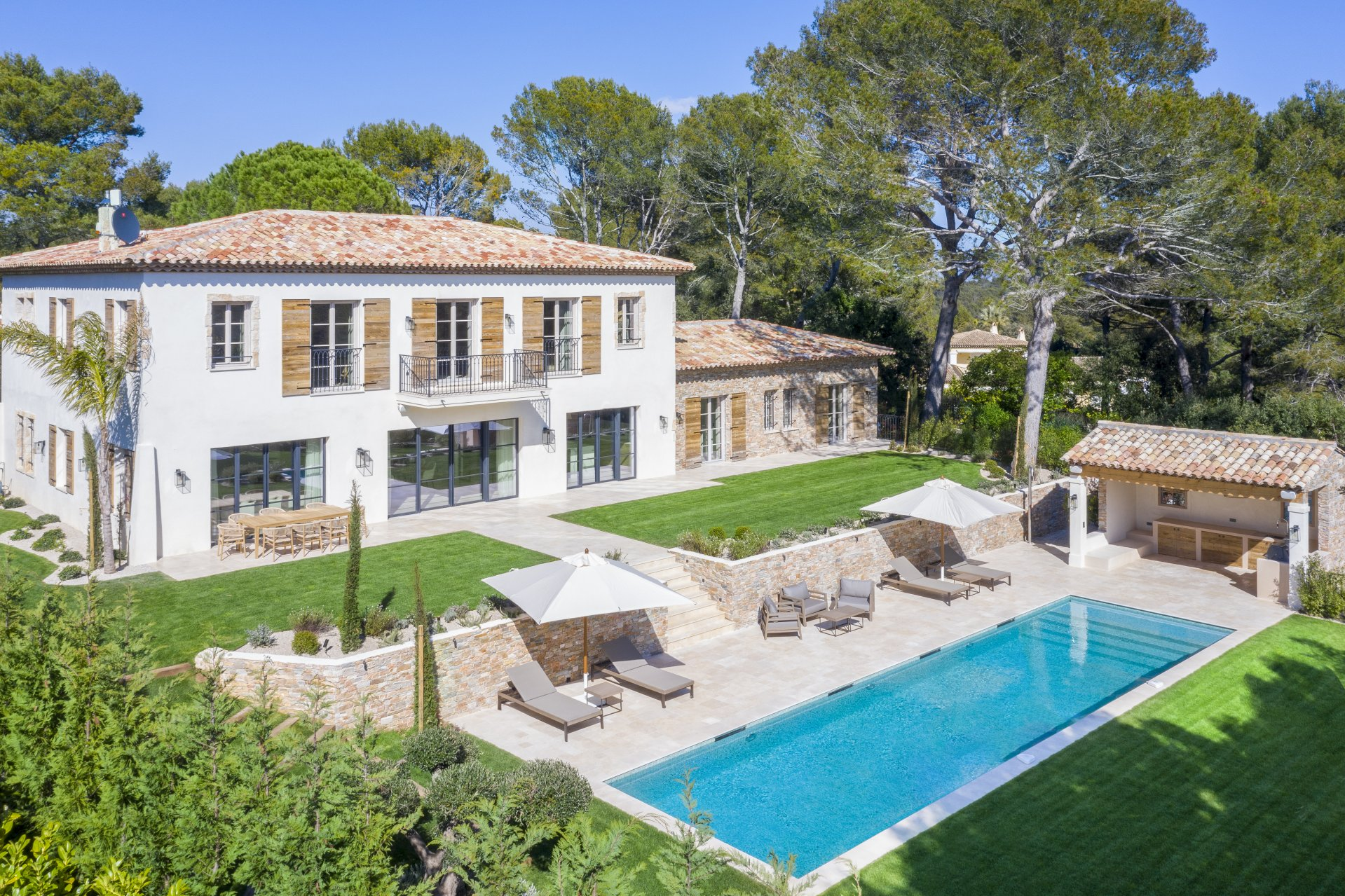Sole Agent Provencal luxury villa with panoramic views