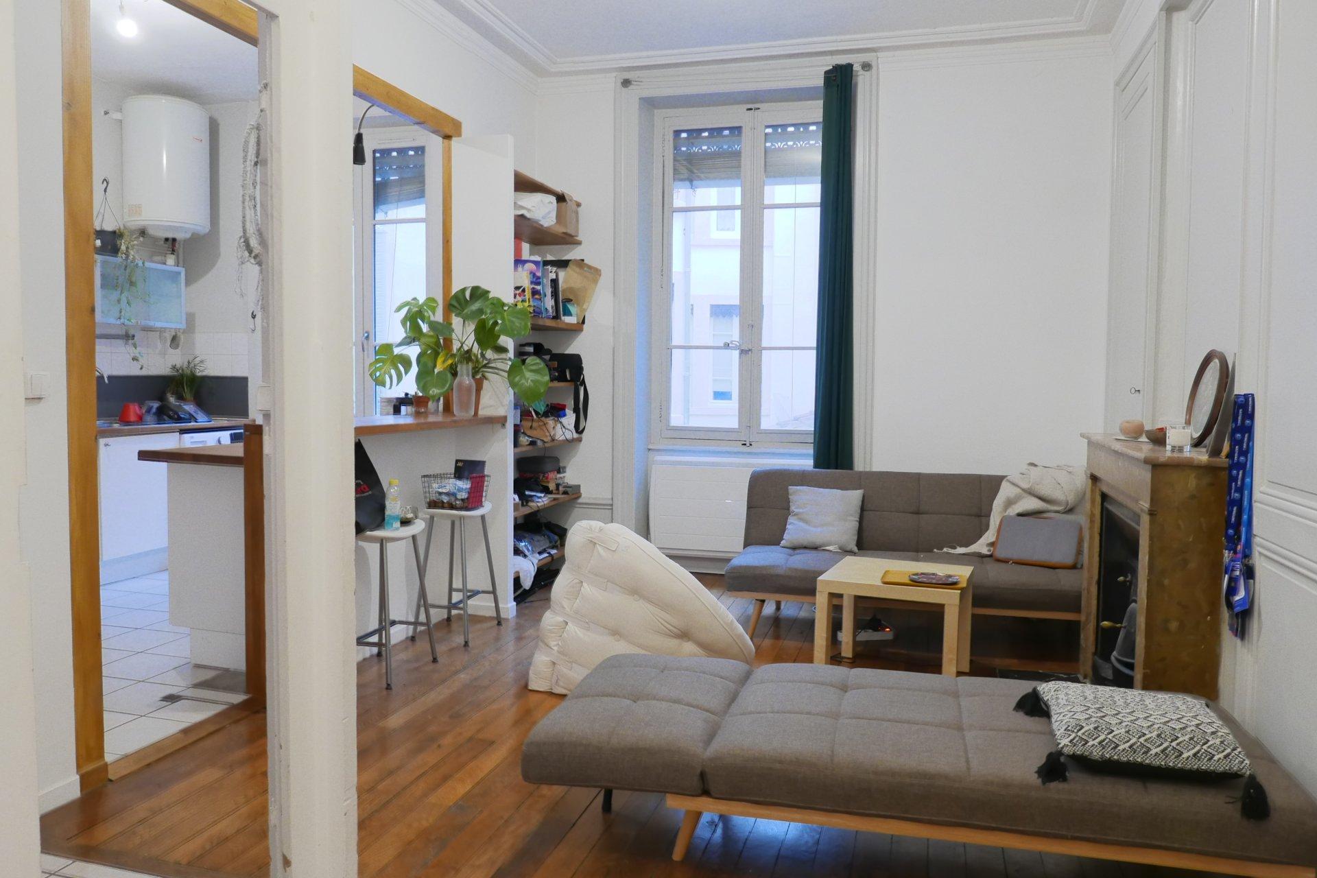 Achat Appartement Surface de 56.55 m²/ Total carrez : 56.55 m², 2 pièces, Lyon 3ème (69003)