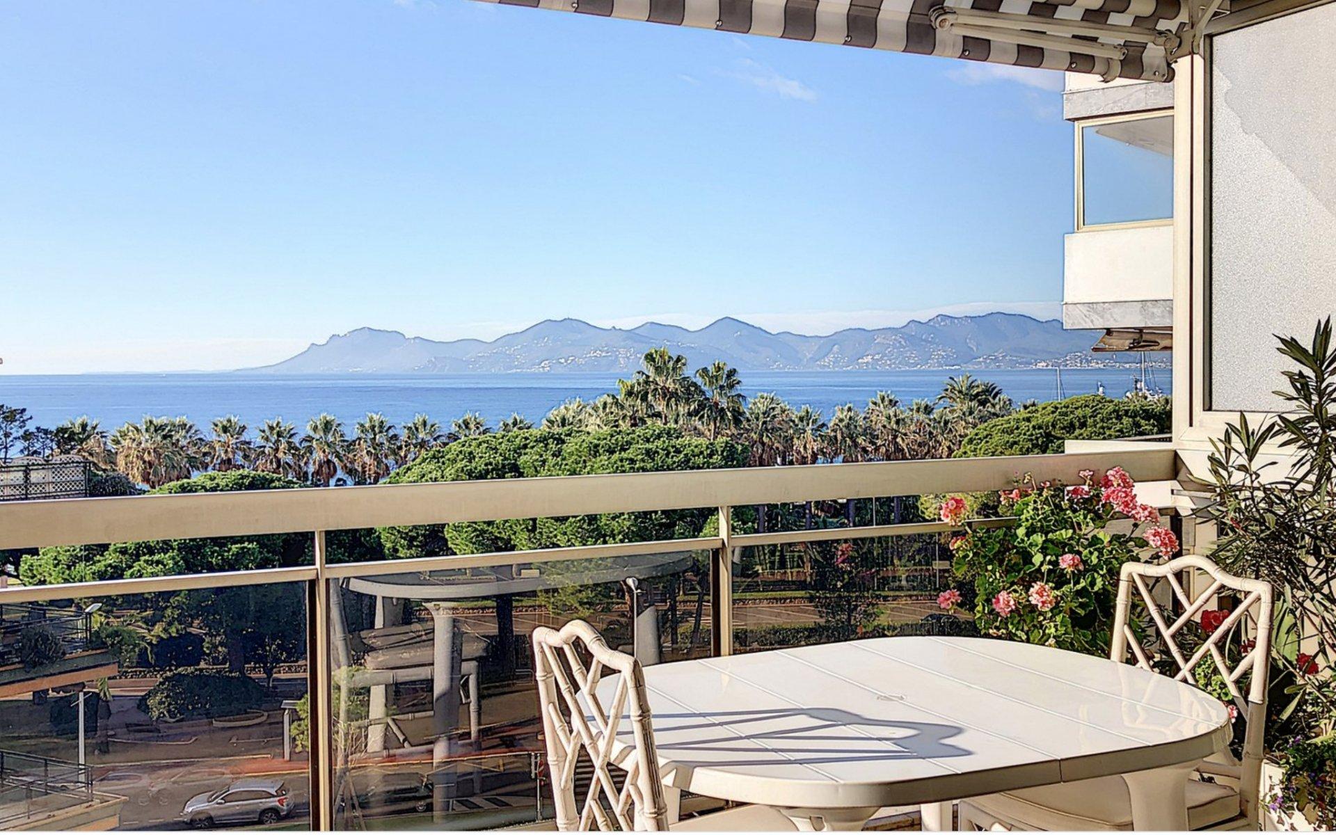 Cannes back Croisette 3p 87 m2 sea view