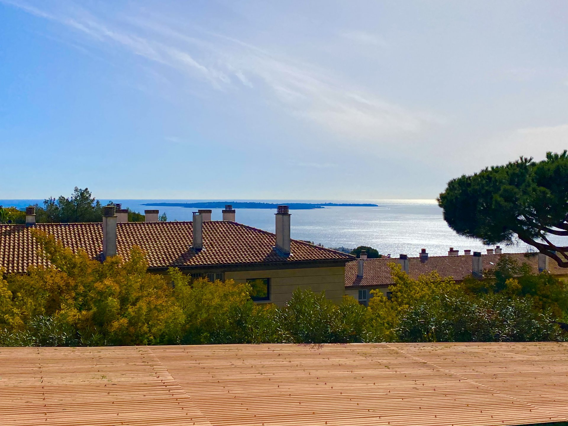 CANNES FOR SALE 5 ROOMS SEA VIEW IN ABSOLUTE CALM