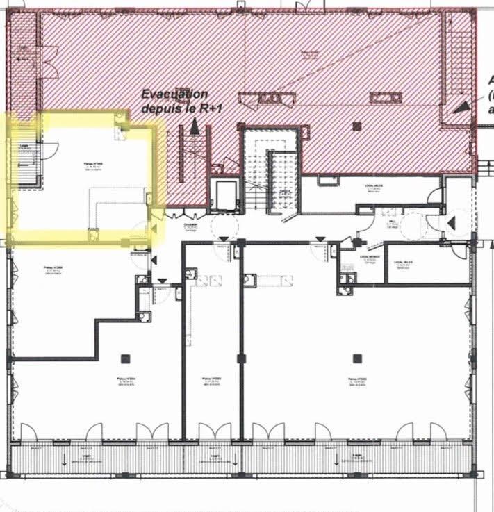 Appartement 2 pièces 44.9 m²