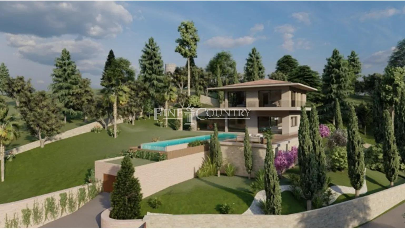 New villa for sale in Super Cannes