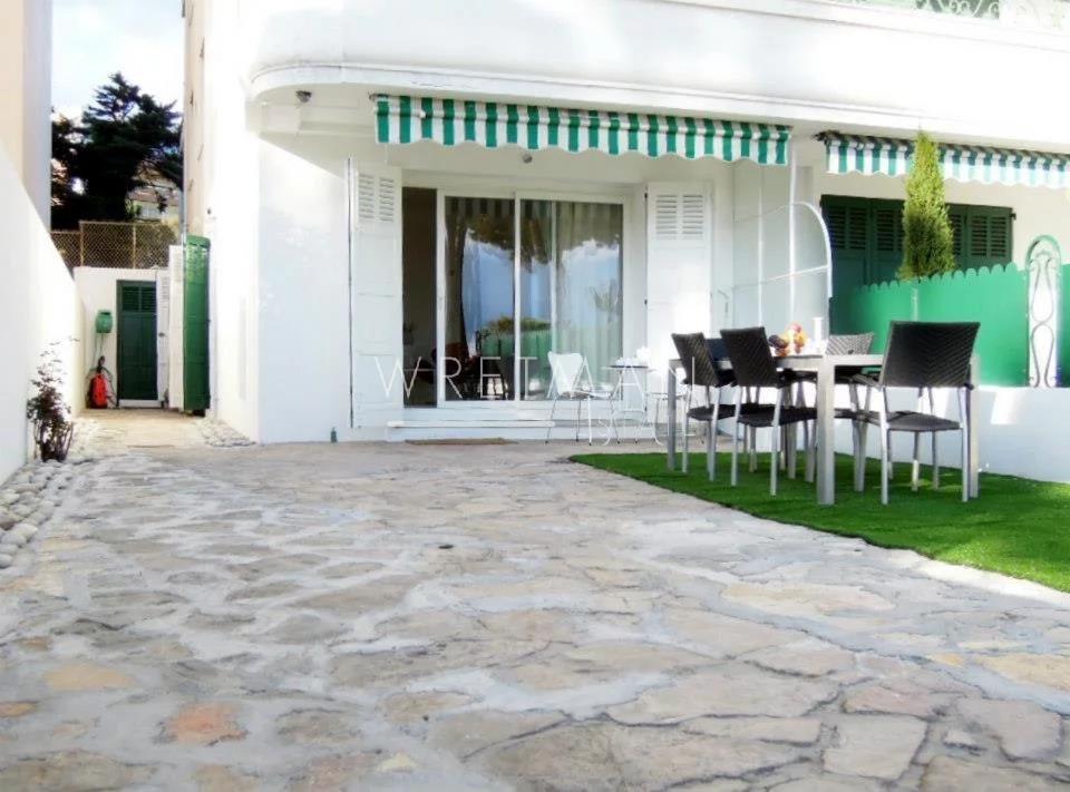 2-sovrumslägenhet med trädgård - Croisette Cannes