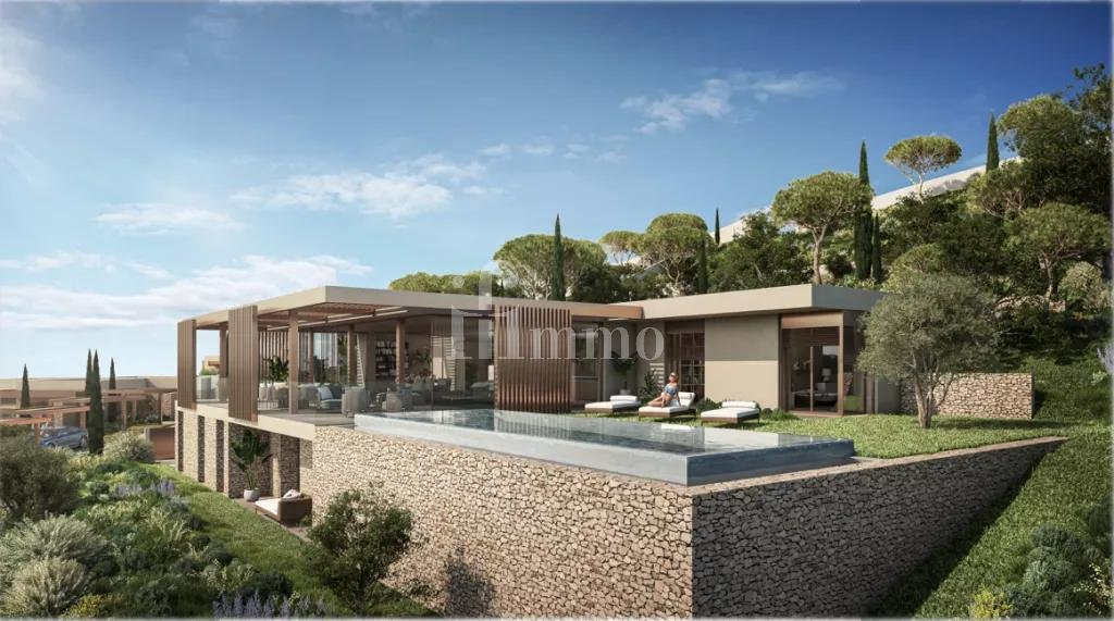 Luxury villa T4 sea view grimaud