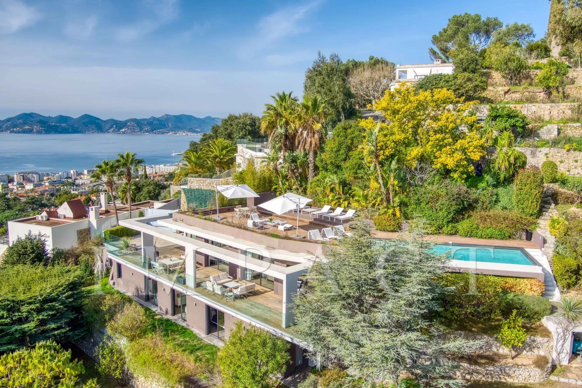 Villa contemporaine à vendre Cannes - Californie