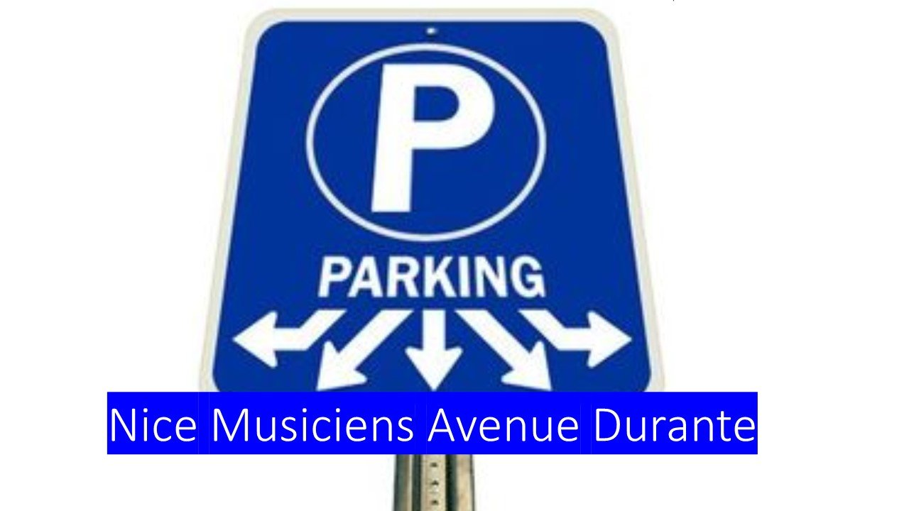 Parking quartier Musiciens Avenue Durante Square Mozart