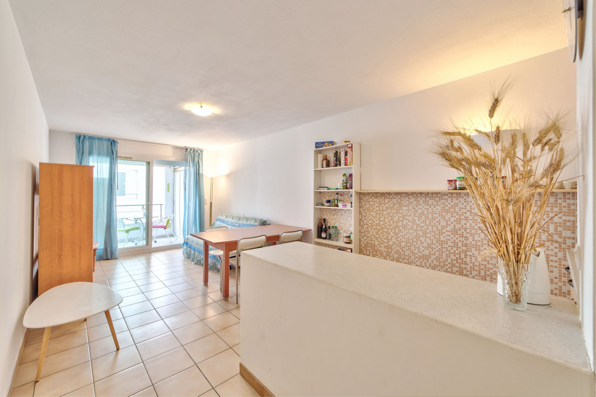Appartement 2 pieces au bd Carabacel