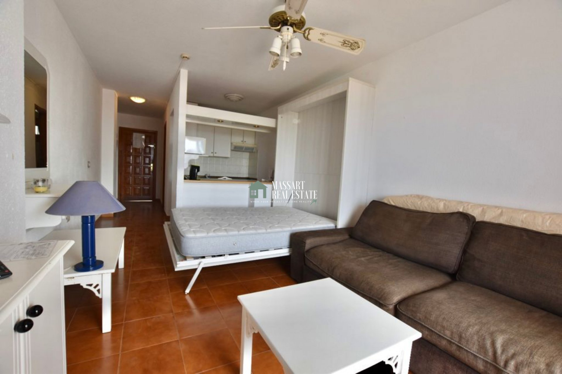 37 m2 furnished studio for sale in Playa Las Américas, in the residential complex Garden City… fantastic investment opportunity!