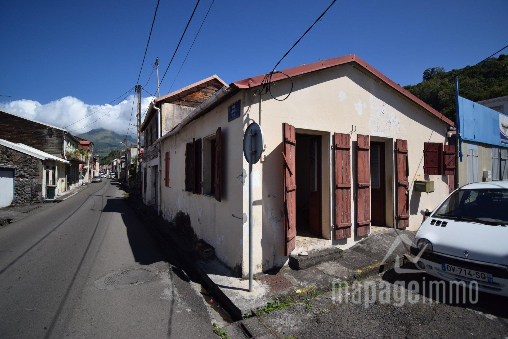 Maison de ville, proche Mer, Saint-Pierre 97250