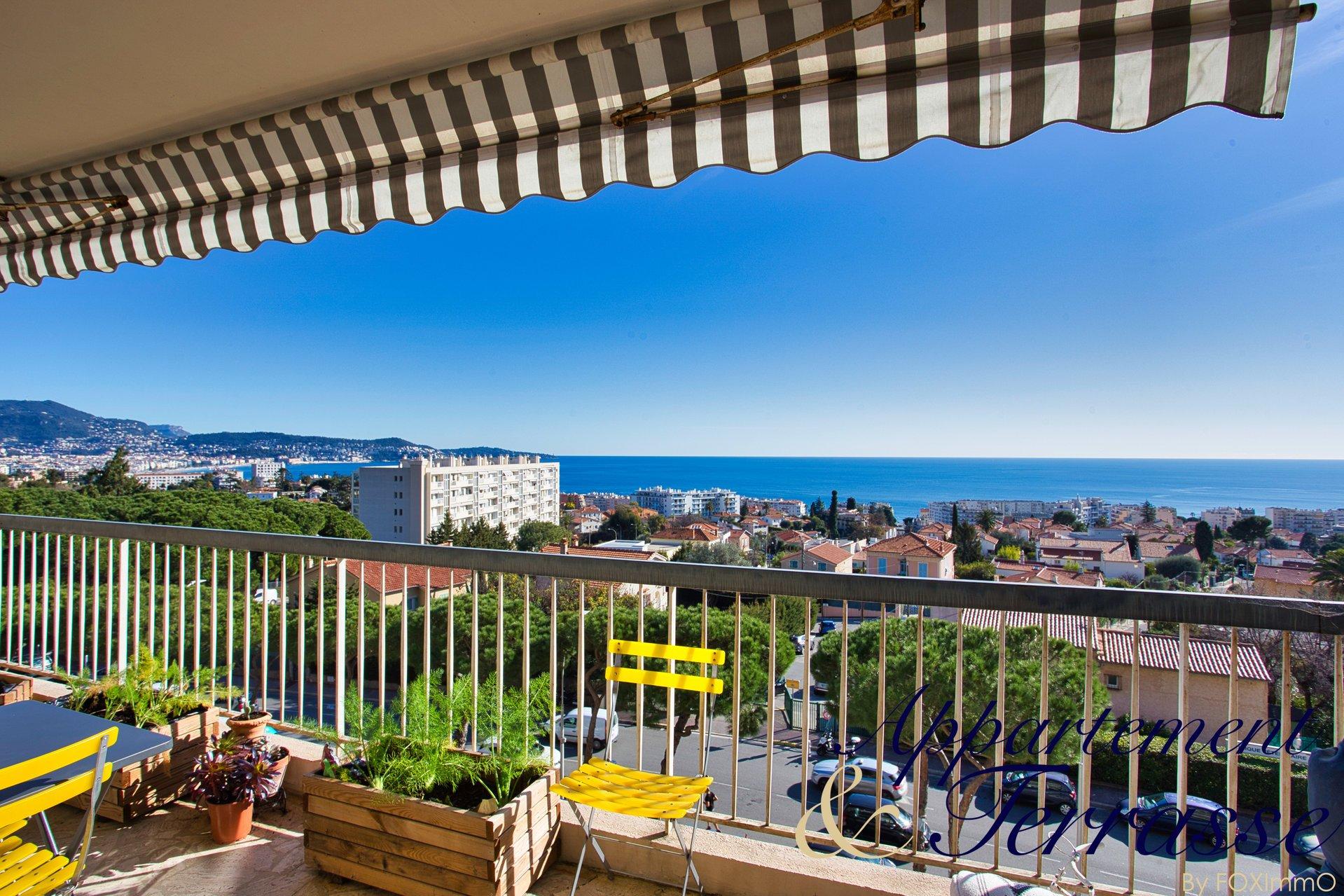 Appartamento di 3 stanze con terrazza e vista mare