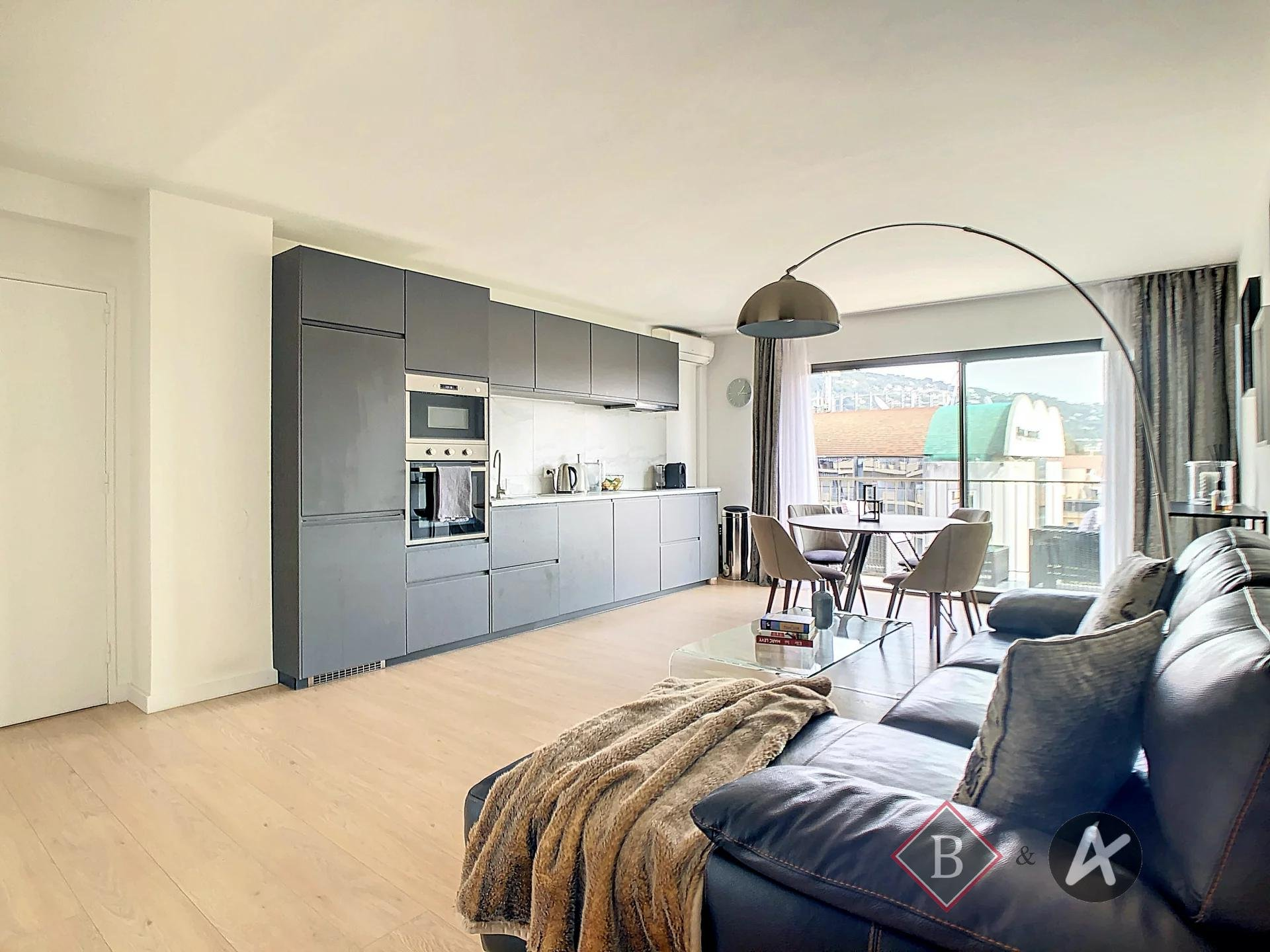 CANNES - Carnot, 4 rooms apartment