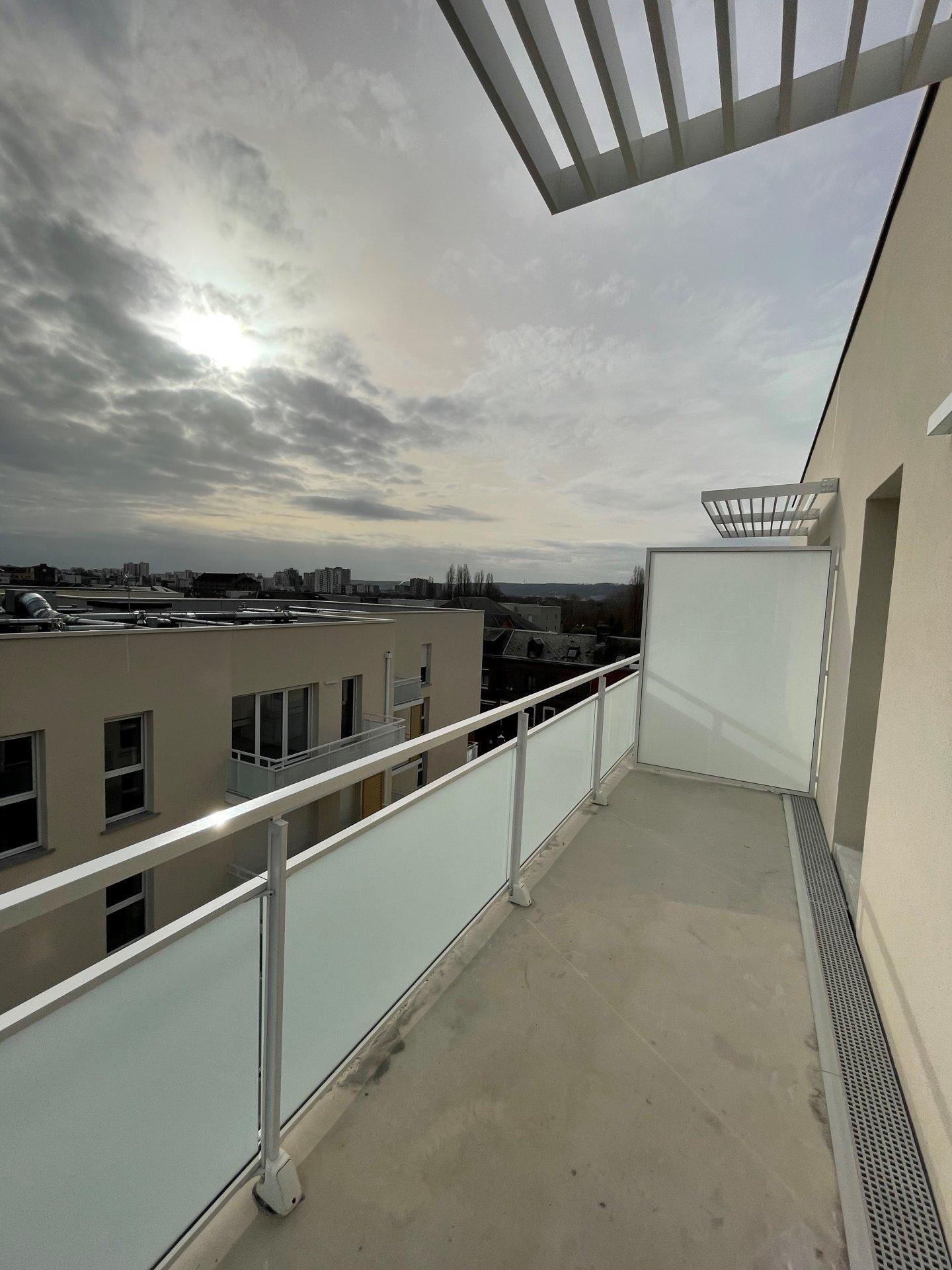 Rés. neuve BEL AMI - T3 avec balcon et parking - limite ROUEN