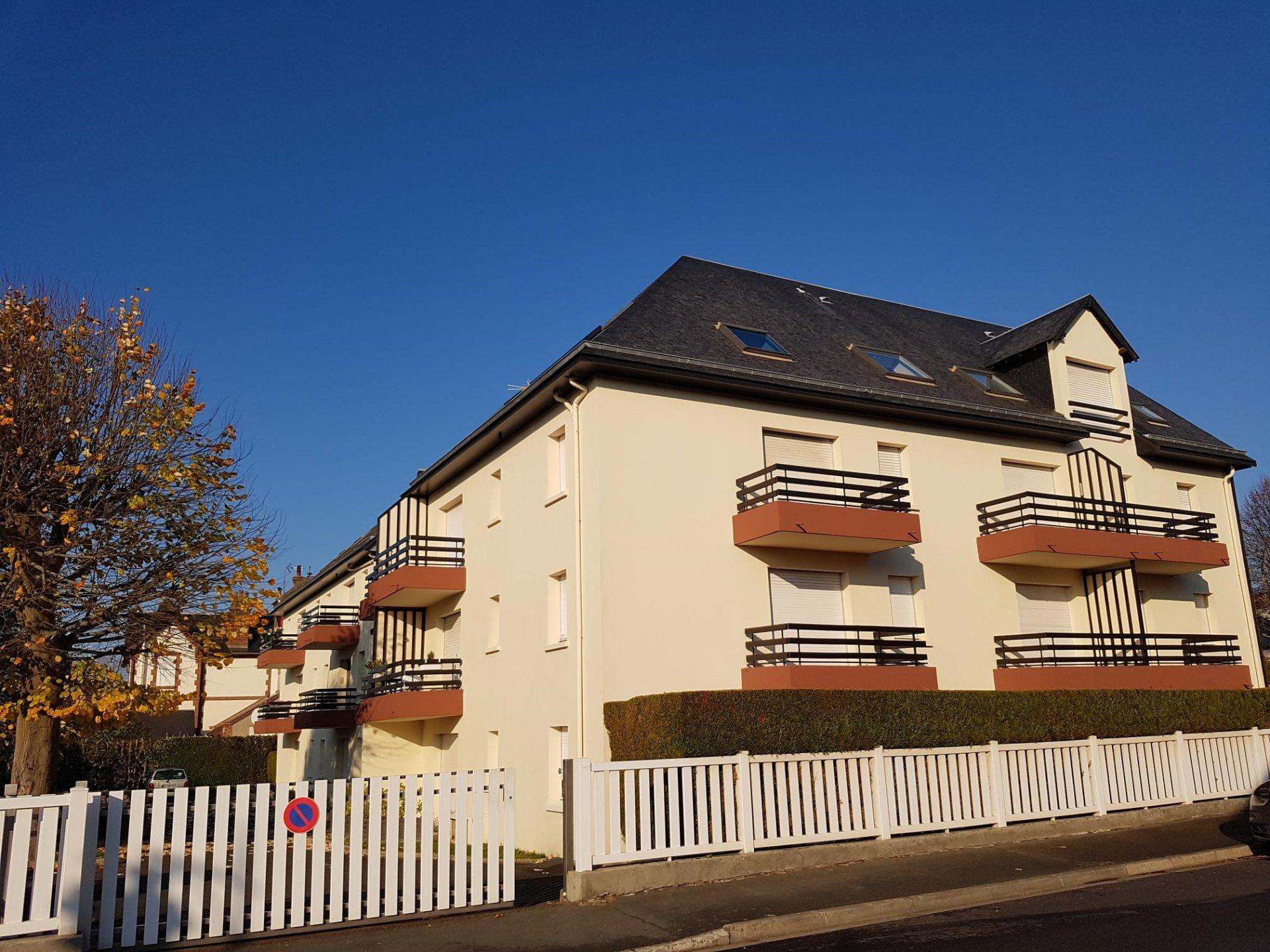 Appartement 3 pièces en plein centre ville de Houlgate !